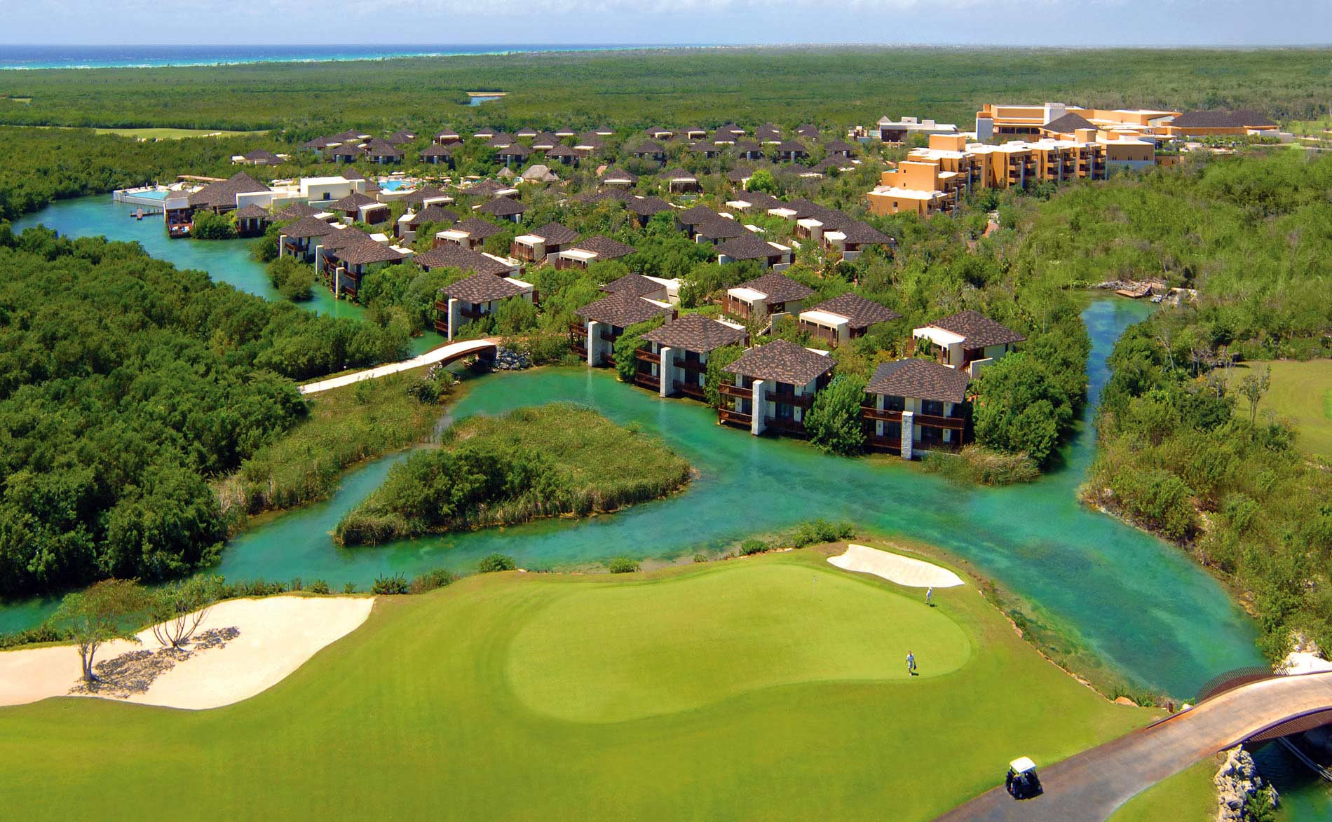 2 Day Golf School - Two Day Golf School Programs8 Hours of Instruction over 2 DaysDigital Video Swing Analysis2:1 Student to Instructor Ratio (4 student max)Jim McLean WorkbookGolf round at El CamaleónLunch daily at Mayakoba GrillThe comprehensive program is designed to accept a wide variety of golfing abilities. Our world-class professionals will evaluate each individual and develop a plan to optimize their playing abilities. The two day system allocates balanced improvement to several aspects of your golf game.8:00am-12:00pmInvestment: $1,360.00(Add $1,130 for each additional person)This school is currently customized to fit your schedule at any time during your stay in the Riviera Maya.
