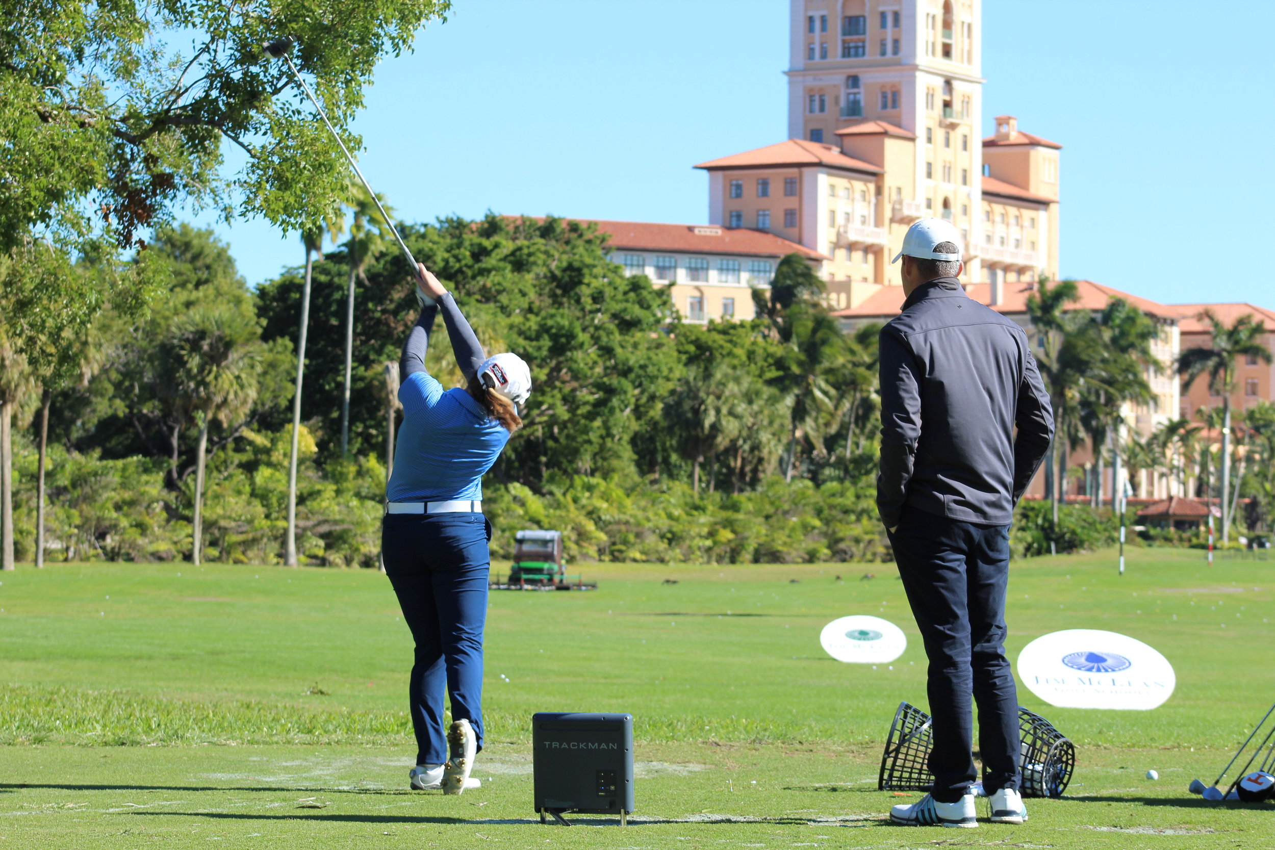 2 DAY PRO SESSION EXPERIENCE - This program is designed for the golfer looking for multiple days of instruction while still getting lots of on-course play everyday. Program consists of 8 hours with your instructor- 3 hours on instruction each day from 9-12-Lunch with your instructor-Play 9 holes after lunch on your ownFor an additional cost, you can continue playing the full 18 and even have your instructor join you for on course playing lesson for the 9 or 18 holesFully customization program: Pick any available instructor and pick any days that work for your schedule.