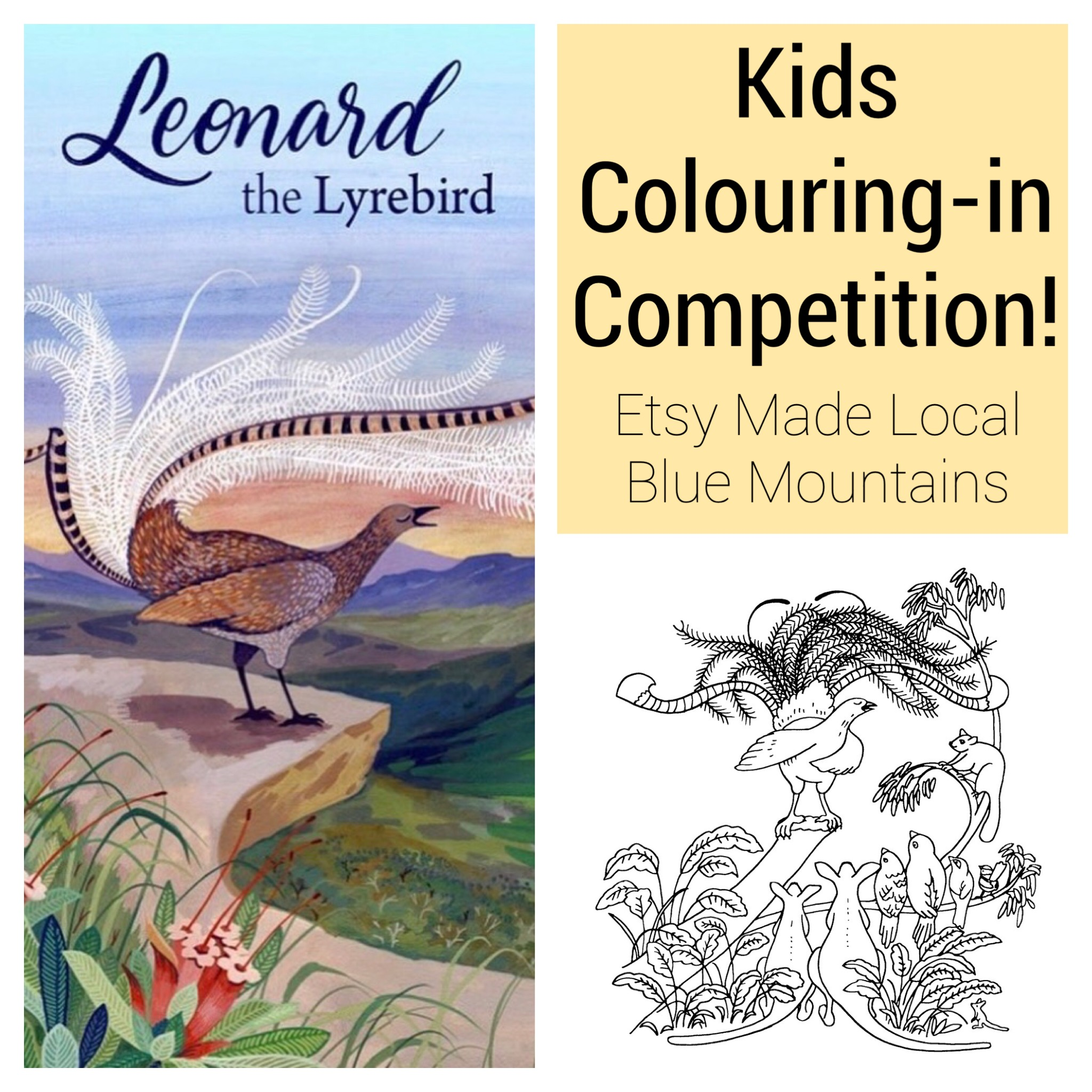 We are running a wonderful Kids Colouring In Competition at this years market!