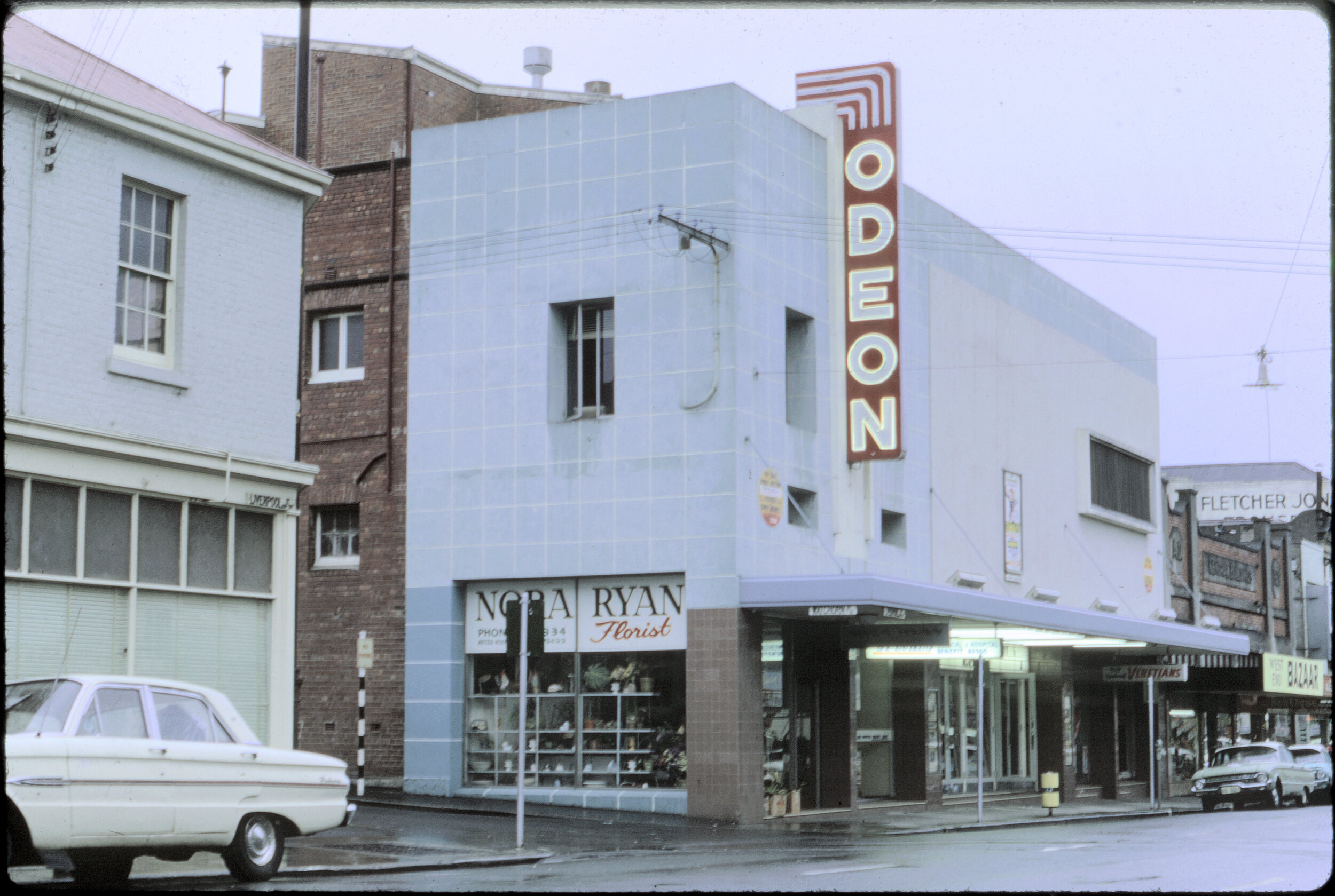 The Odeon Theatre, Hobart in the sixties