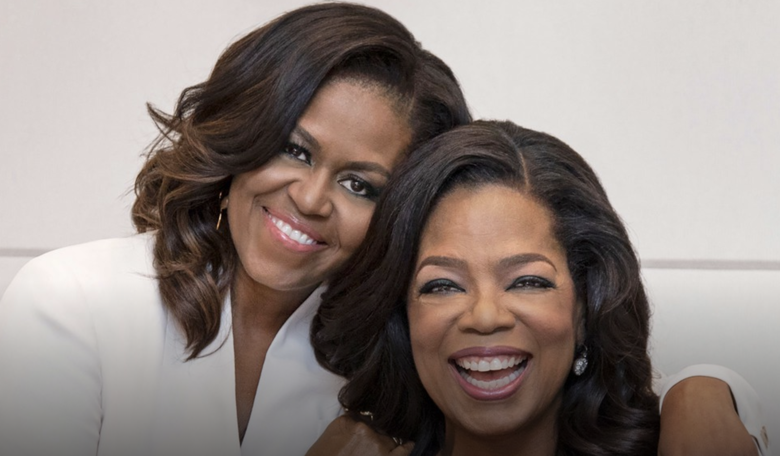 I find both these women inspiring, don't you? They've both been through the ringer, and they're still smiling.