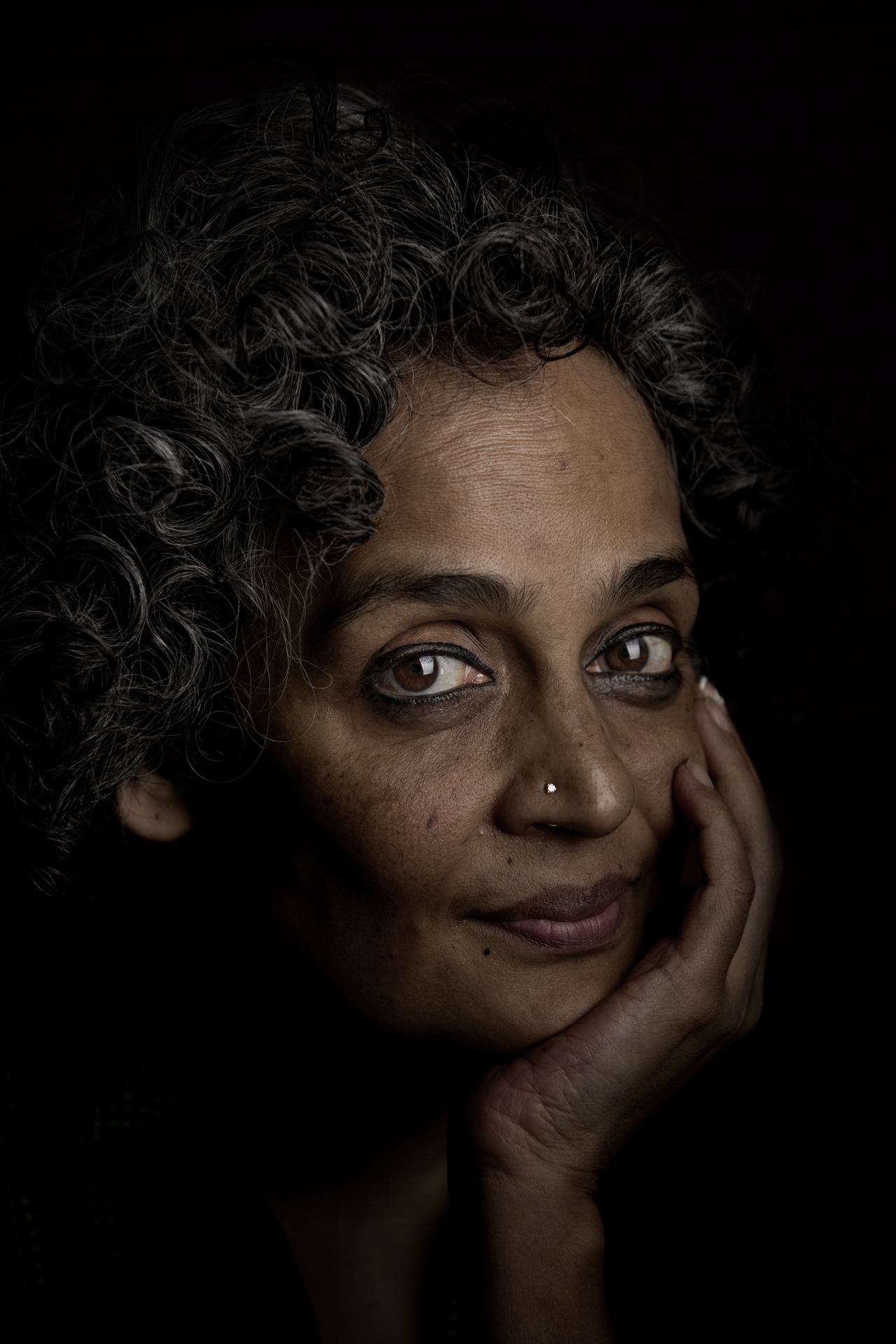 Author, Arundhati Roy, New Delhi / India