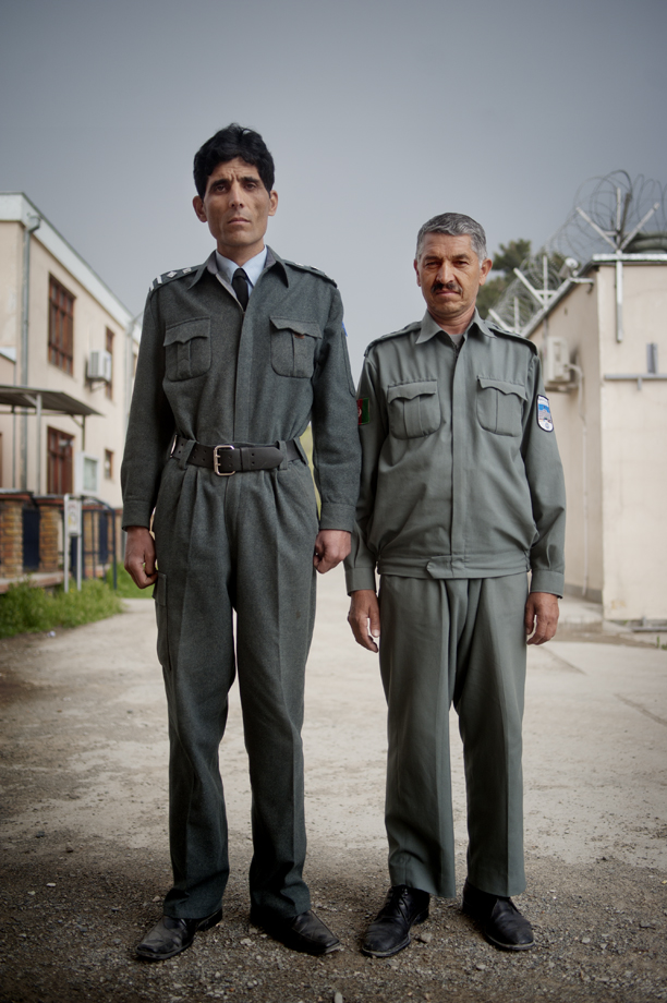 Police students at  Kabuls police school / Afghanistan