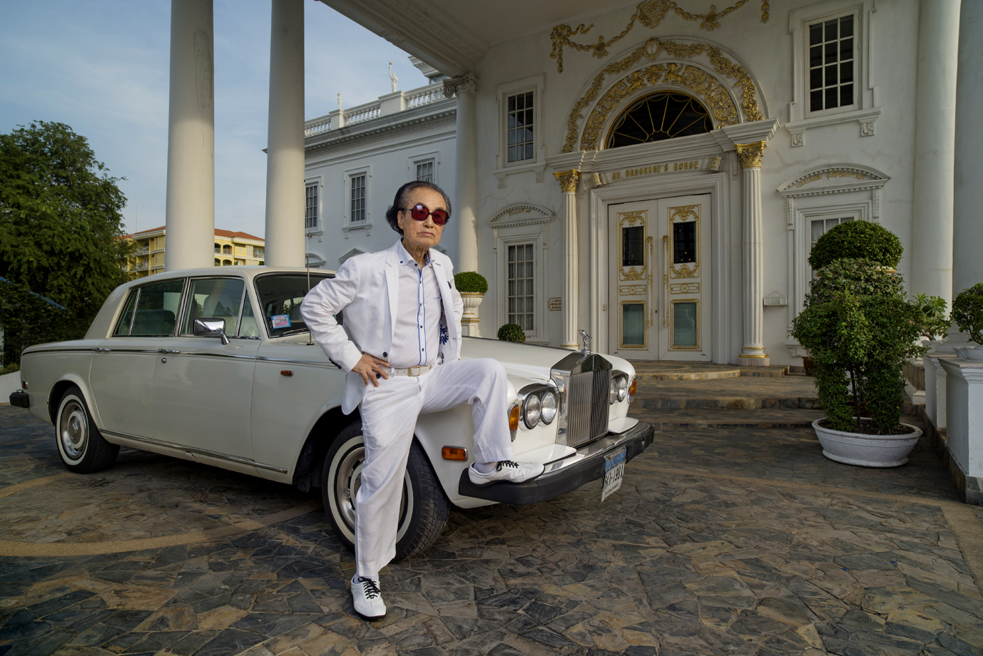 Mr; Sunshine, Thai-Chines millioner, Bangkok / Thailand