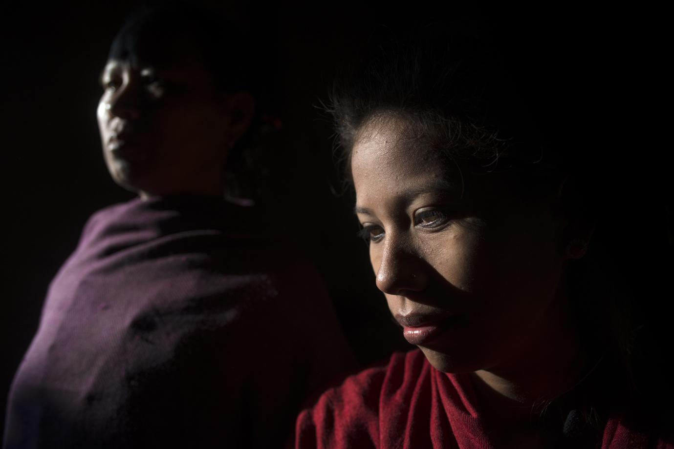A former child slave from the Kamalari caste, Terai region / Nepal
