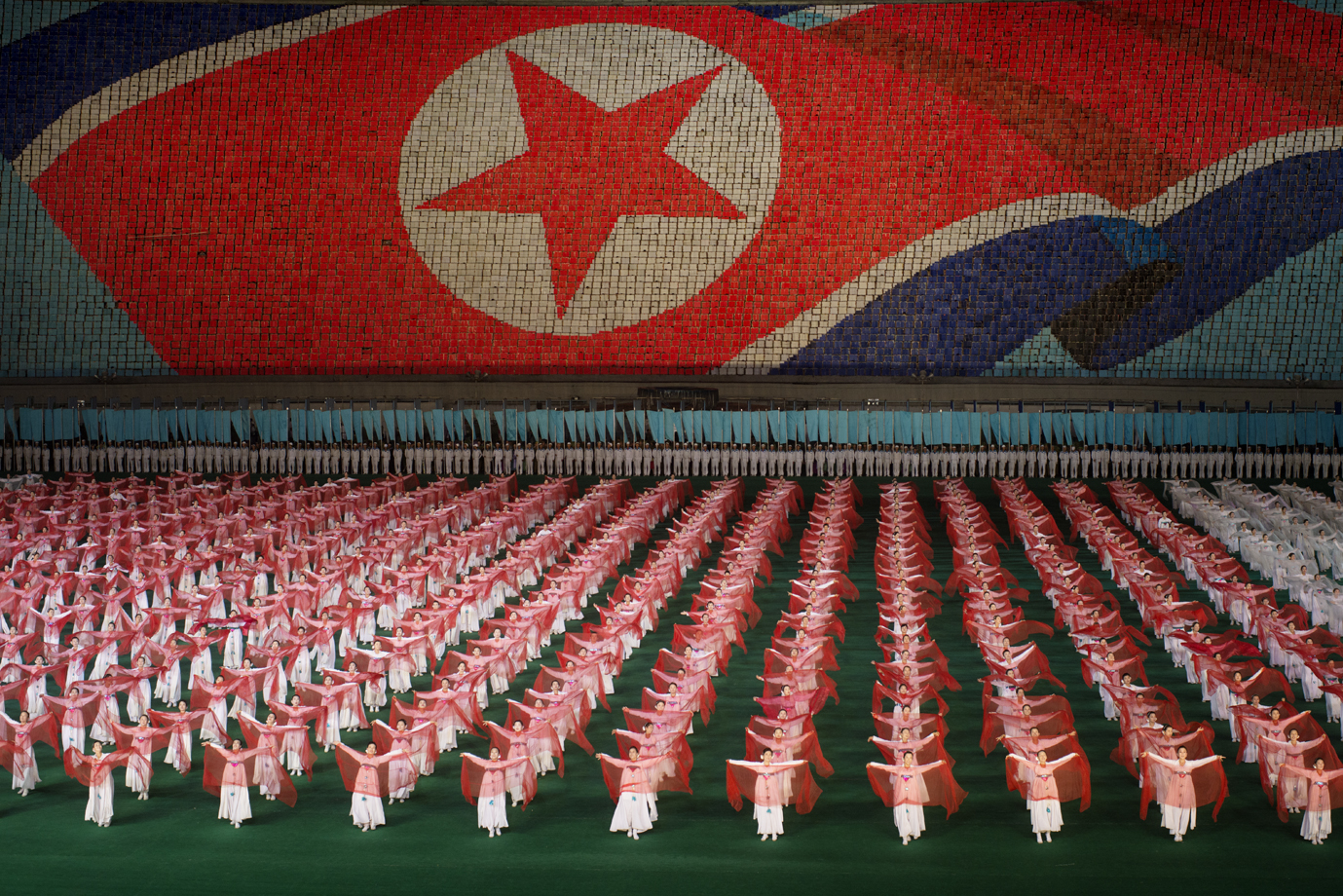Mass games, Pyongyang/ North Korea