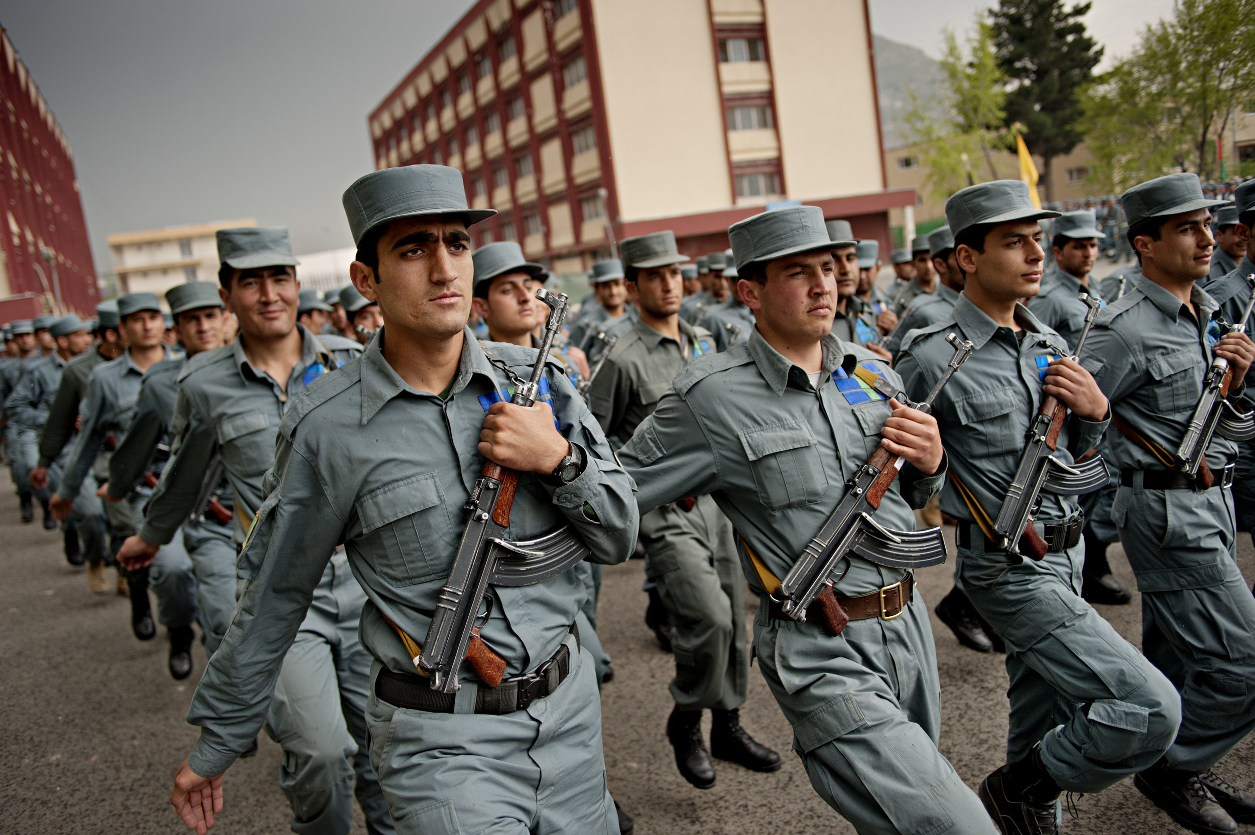 Graduates from Kabul Police School / Afghanistan - 2012