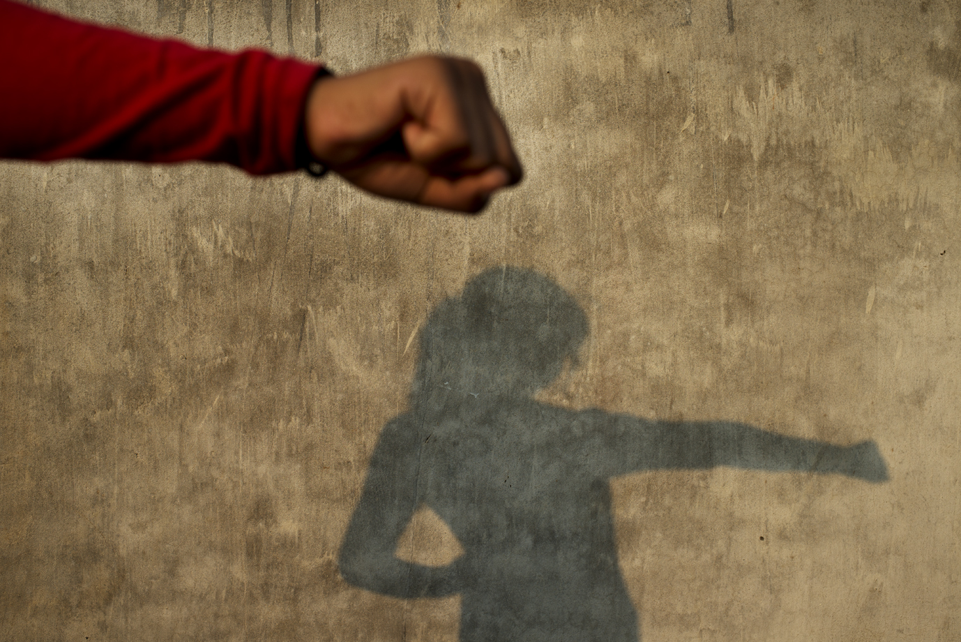 Teenage girl train martial arts to defend her selves against rapists, Uttar Pradesh / India -2014