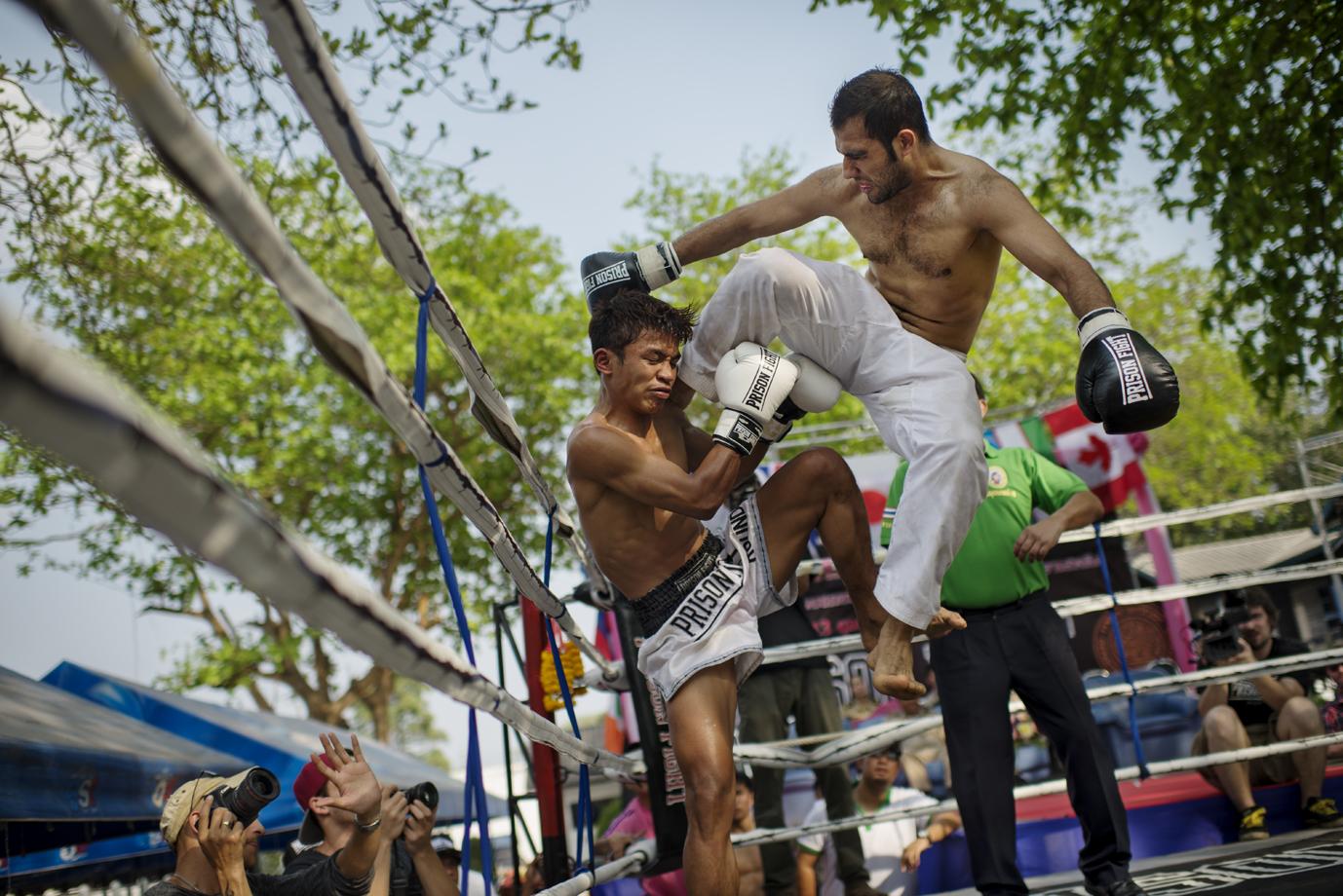 Prison fights / Thailand - 2014