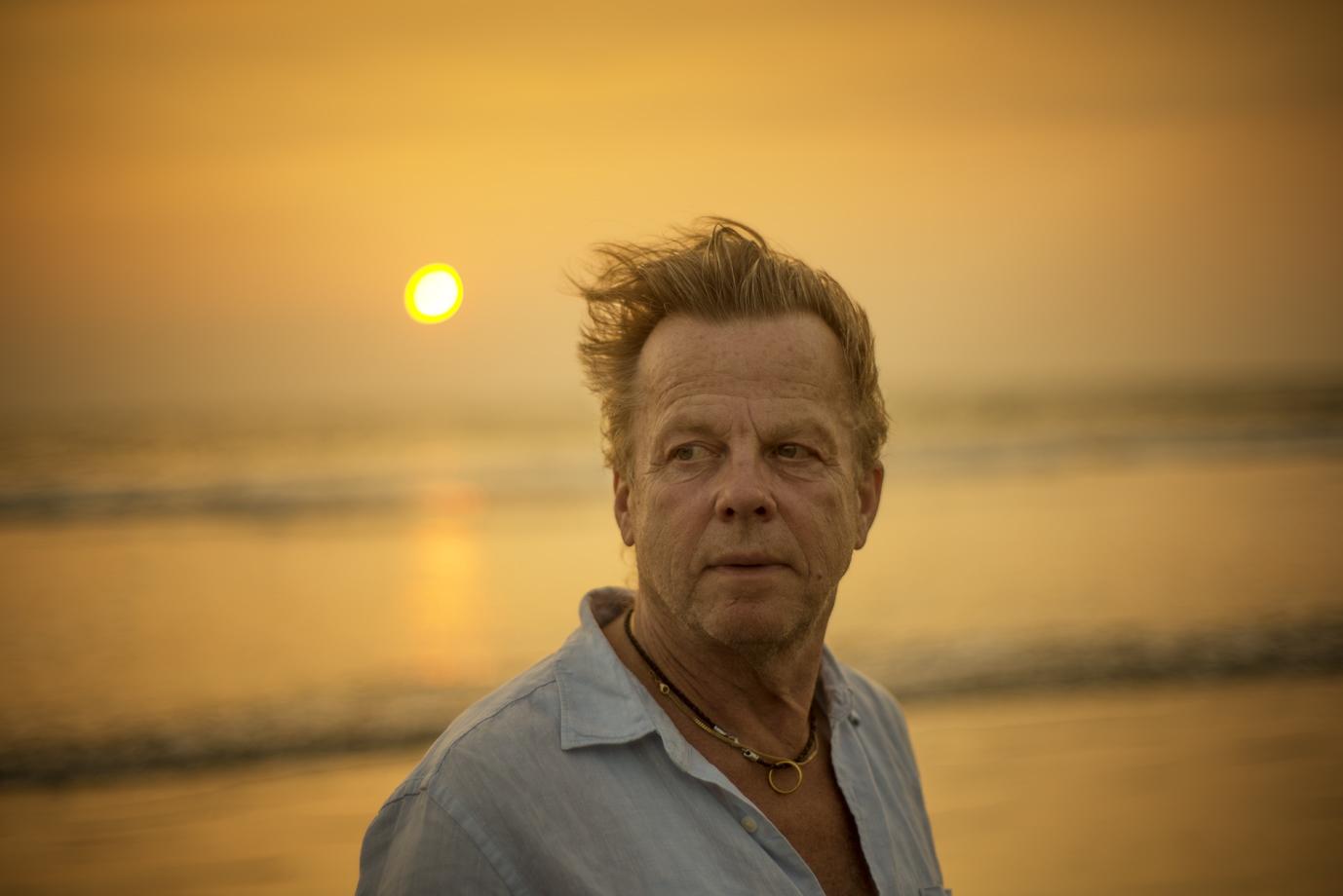 Krister Henriksson, Swedish actor, Goa / India