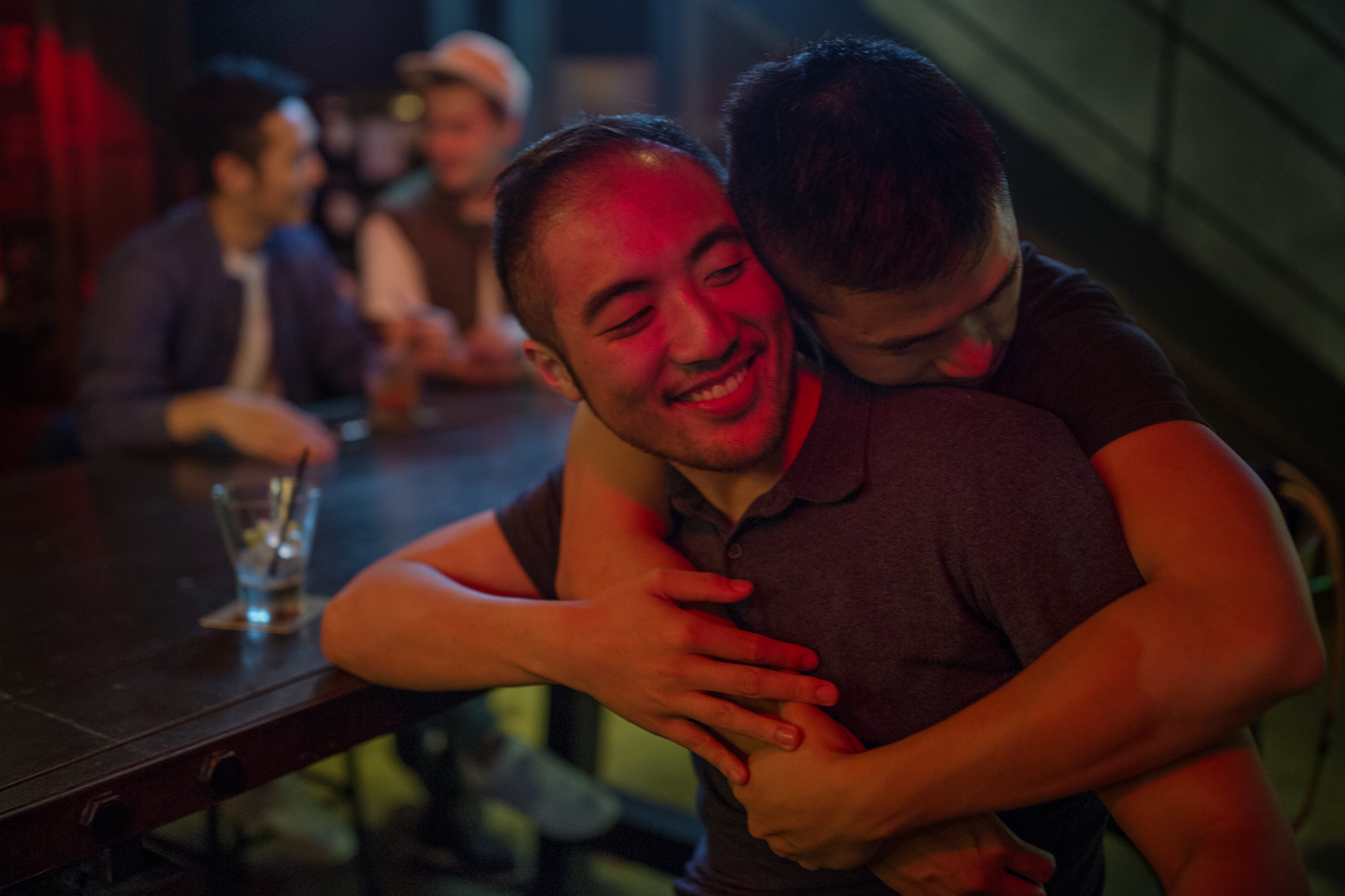 Gay couple in Taipei. Taiwan become the first Asian country to legalise same-sex marriage / Taiwan - 2016