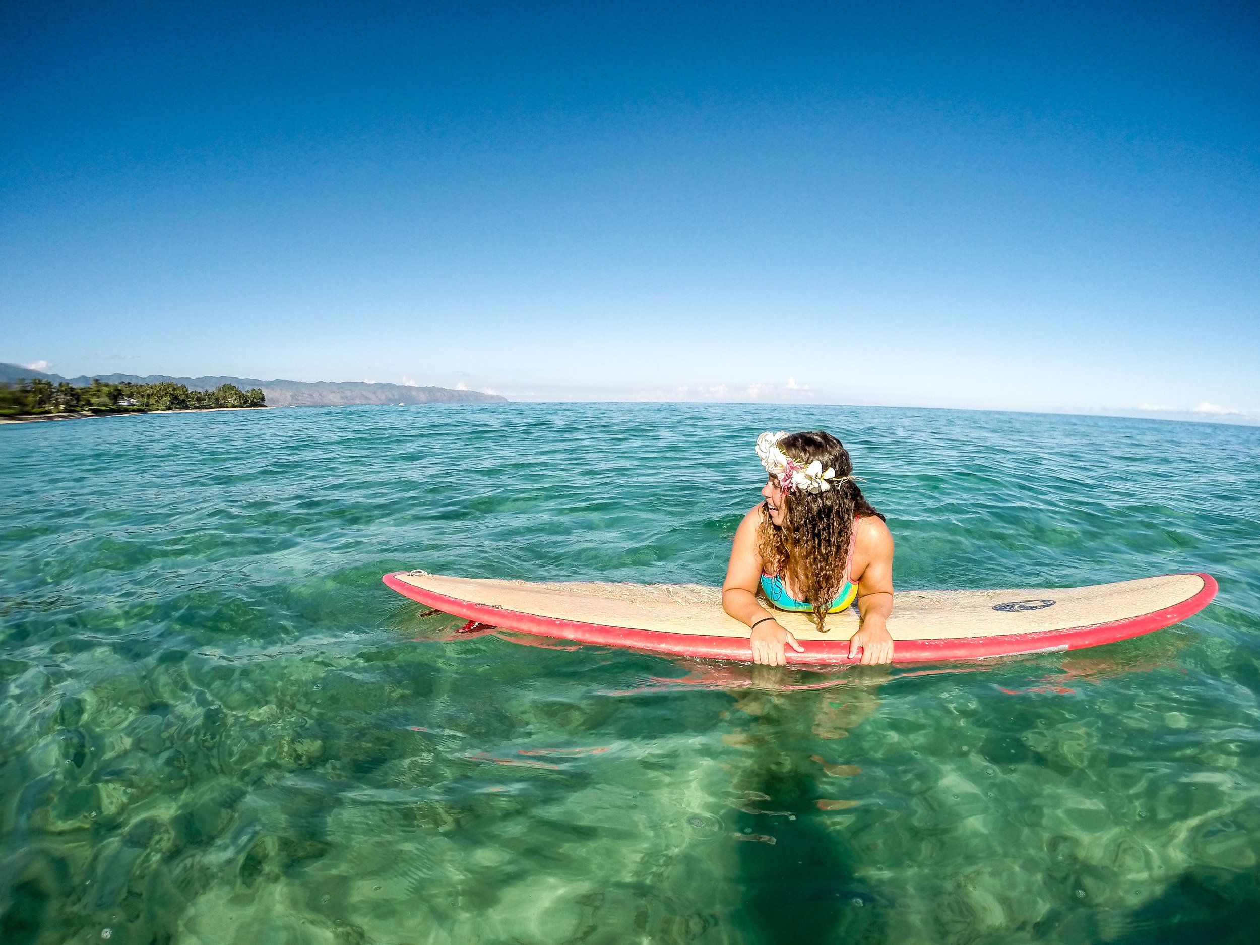 Chilling at Lani Beach Hawai.jpg