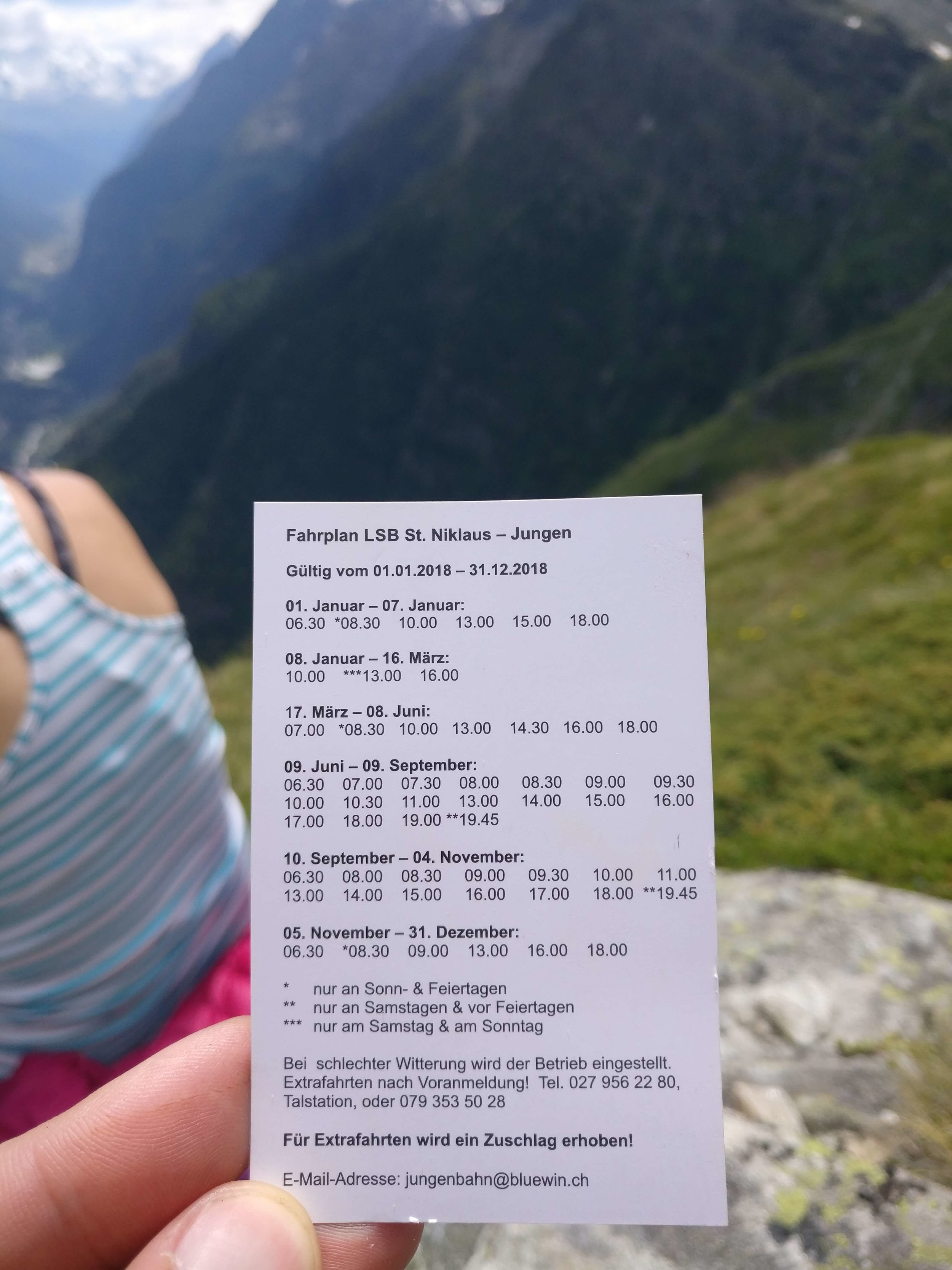Haute Route distance from Chamonix to Zermatt may require a hiker to catch a gondola shortcut