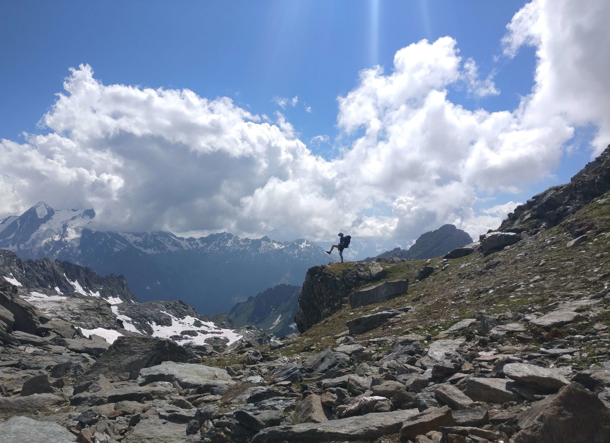 Chamonix to Zermatt distance