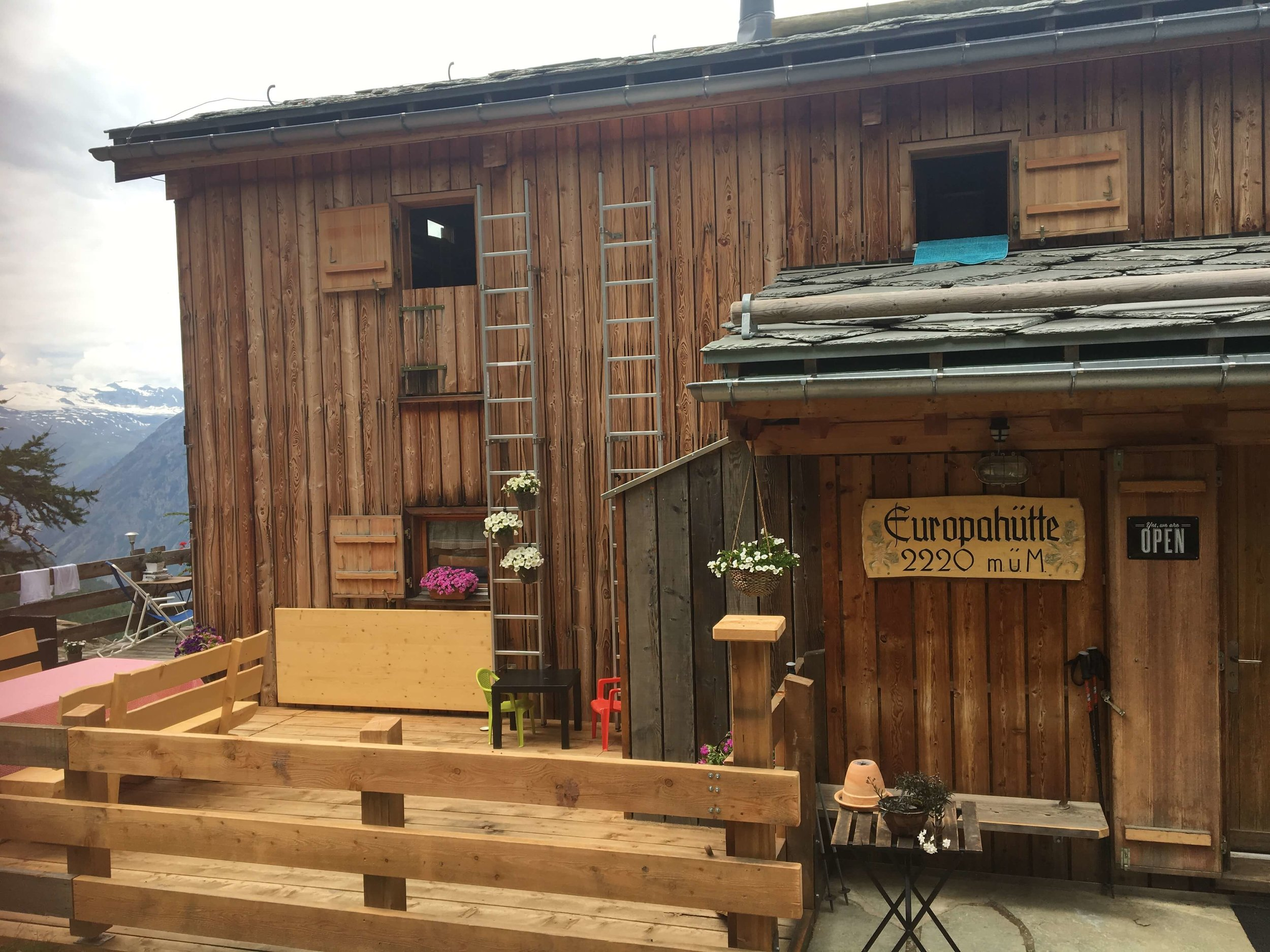 Haute Route Chamonix Zermatt accommodation