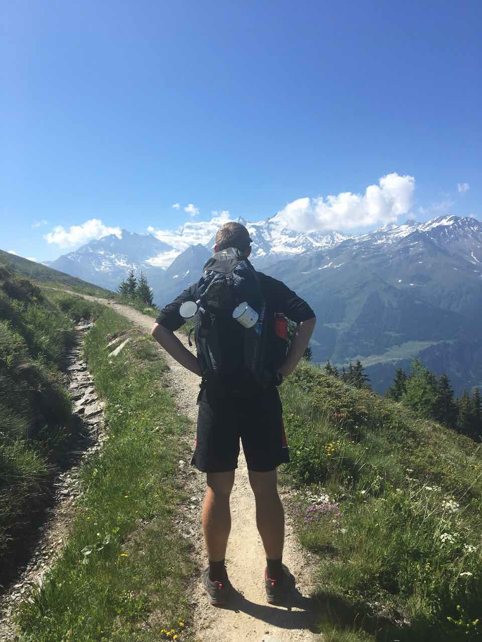 Coming up with the right self-guided itinerary for the Walker's Haute Route is key to having fun on the trail!