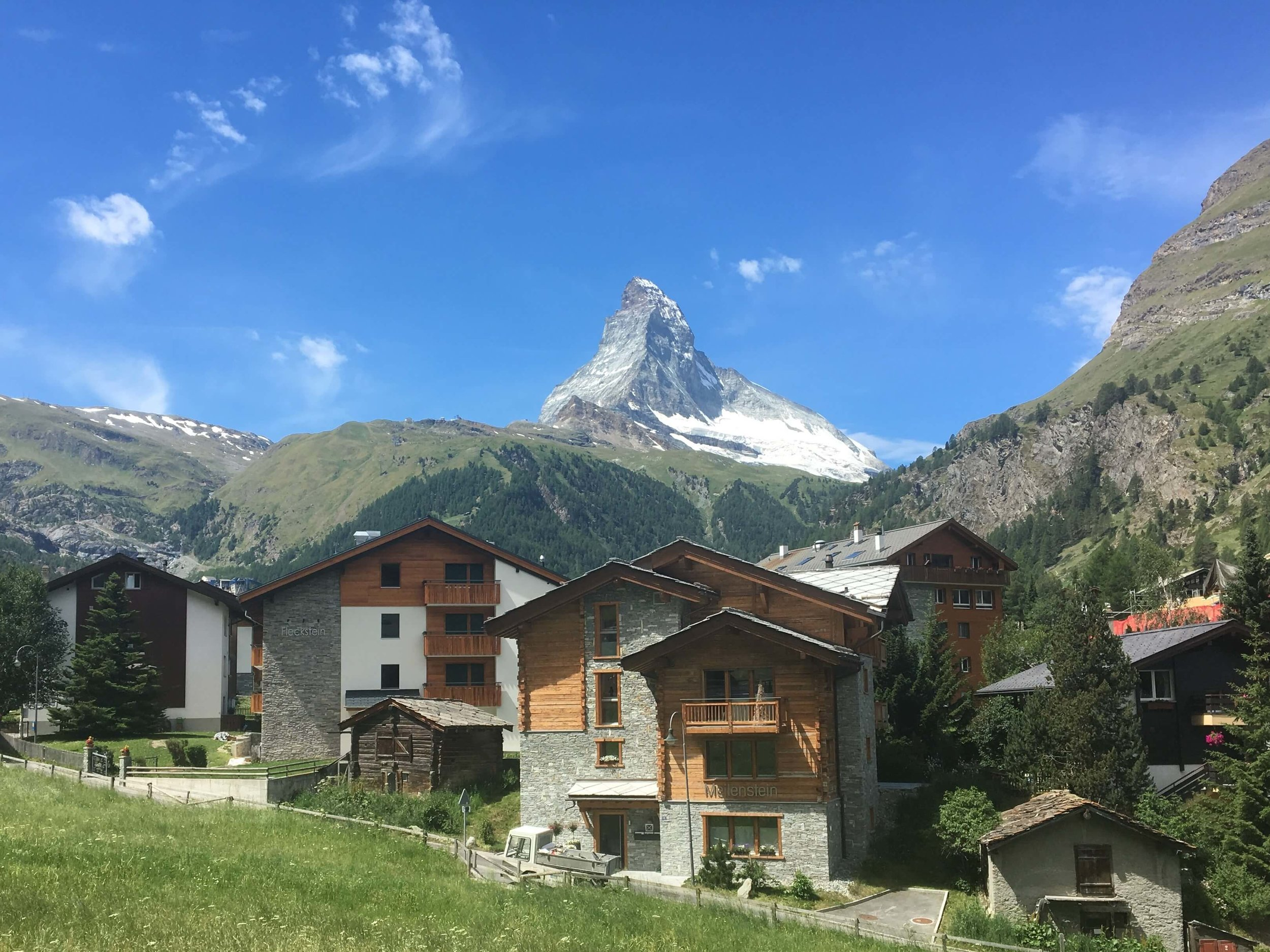 Sending a bag to Zermatt is a popular option so hikers have fresh clothes that haven't been worn on the trail