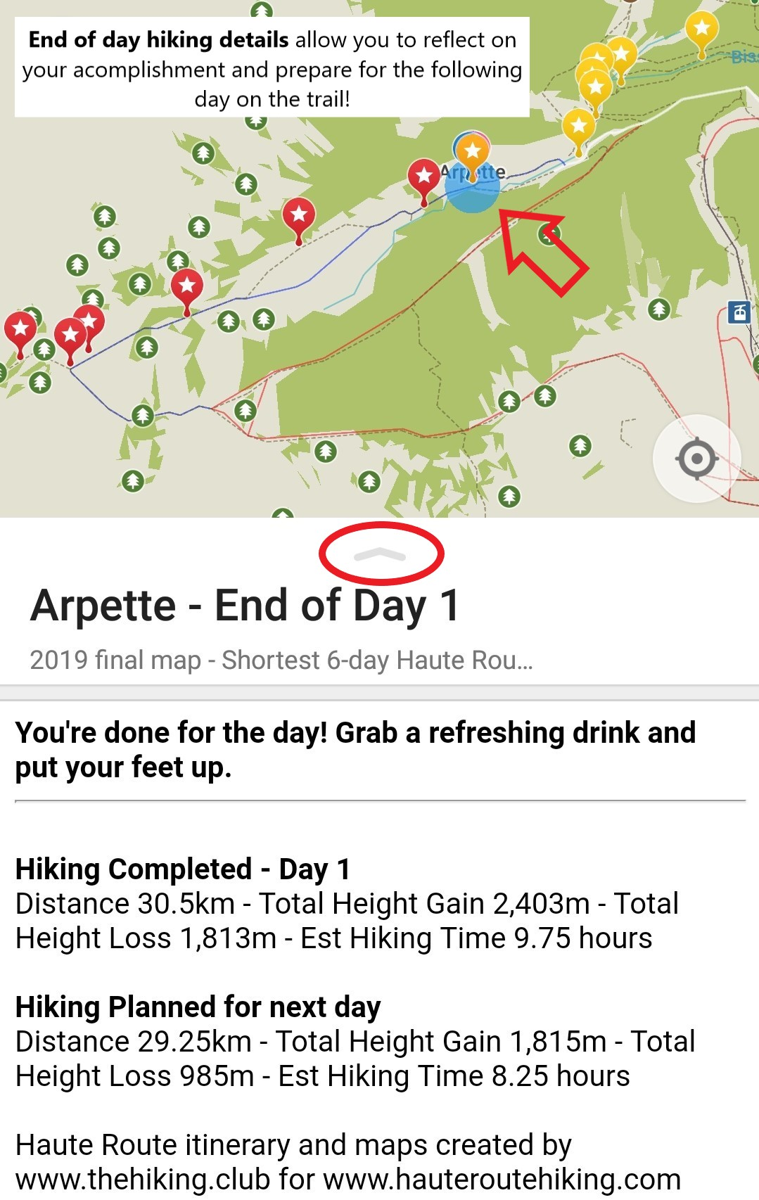 Walker's Haute Route day