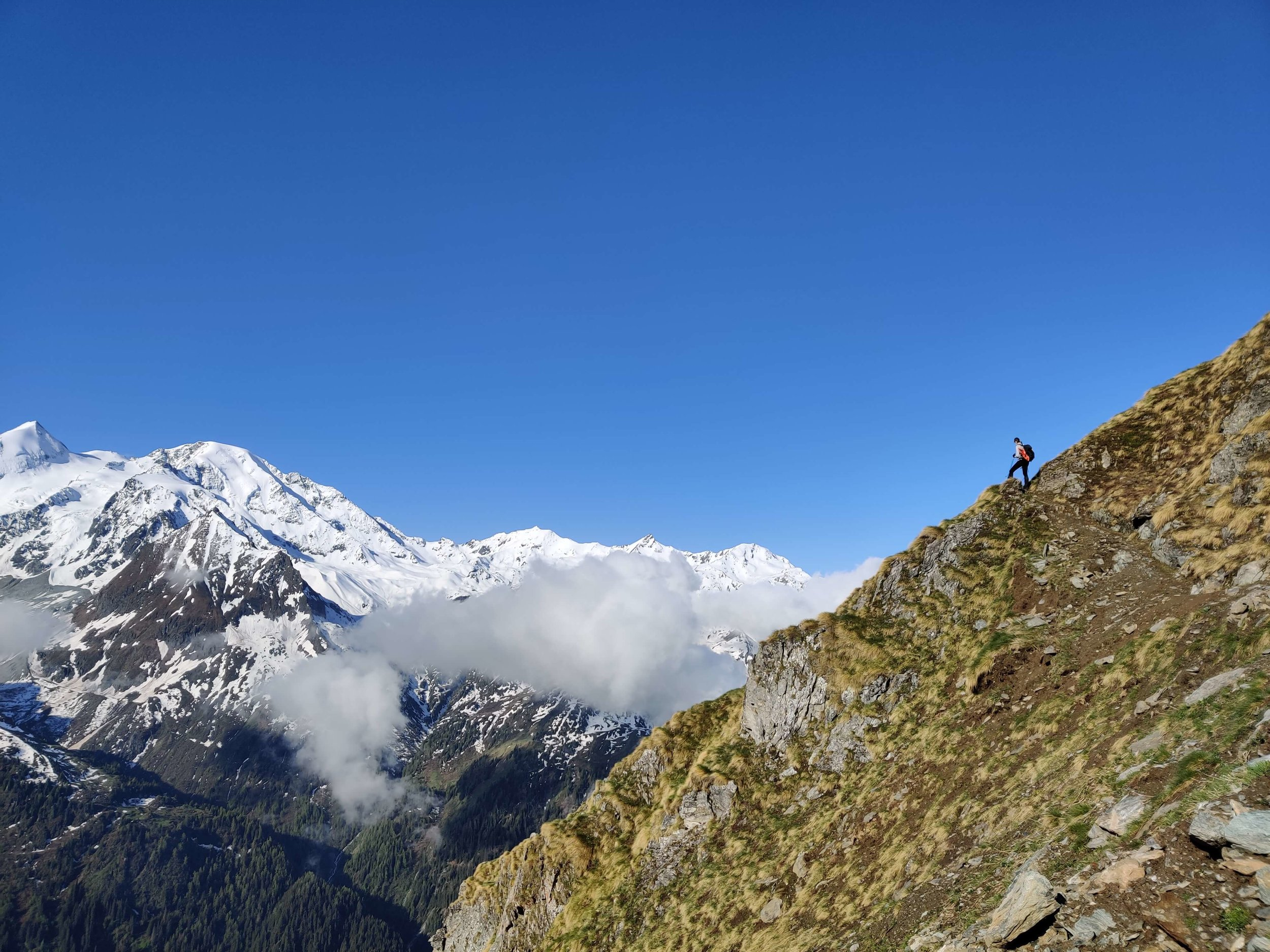 Four seasons in one trail:  June 2019 on the Haute Route