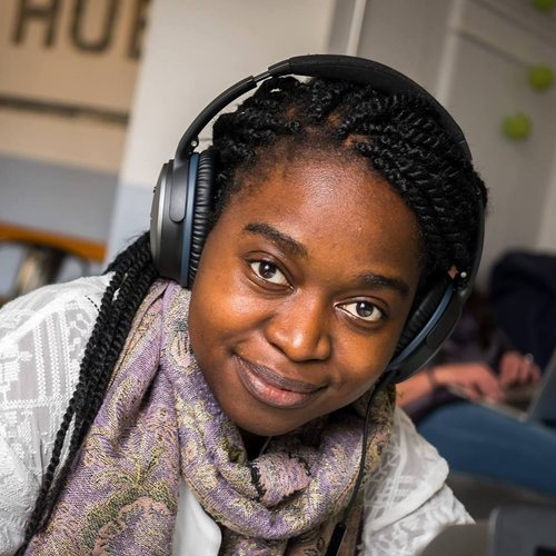 Kawa Banda - Kawa joined the staff in September 2018 and does 3 incredibly productive days a week keeping our financial administration on track. Her secret? We're not sure but it must be something to do with those headphones.
