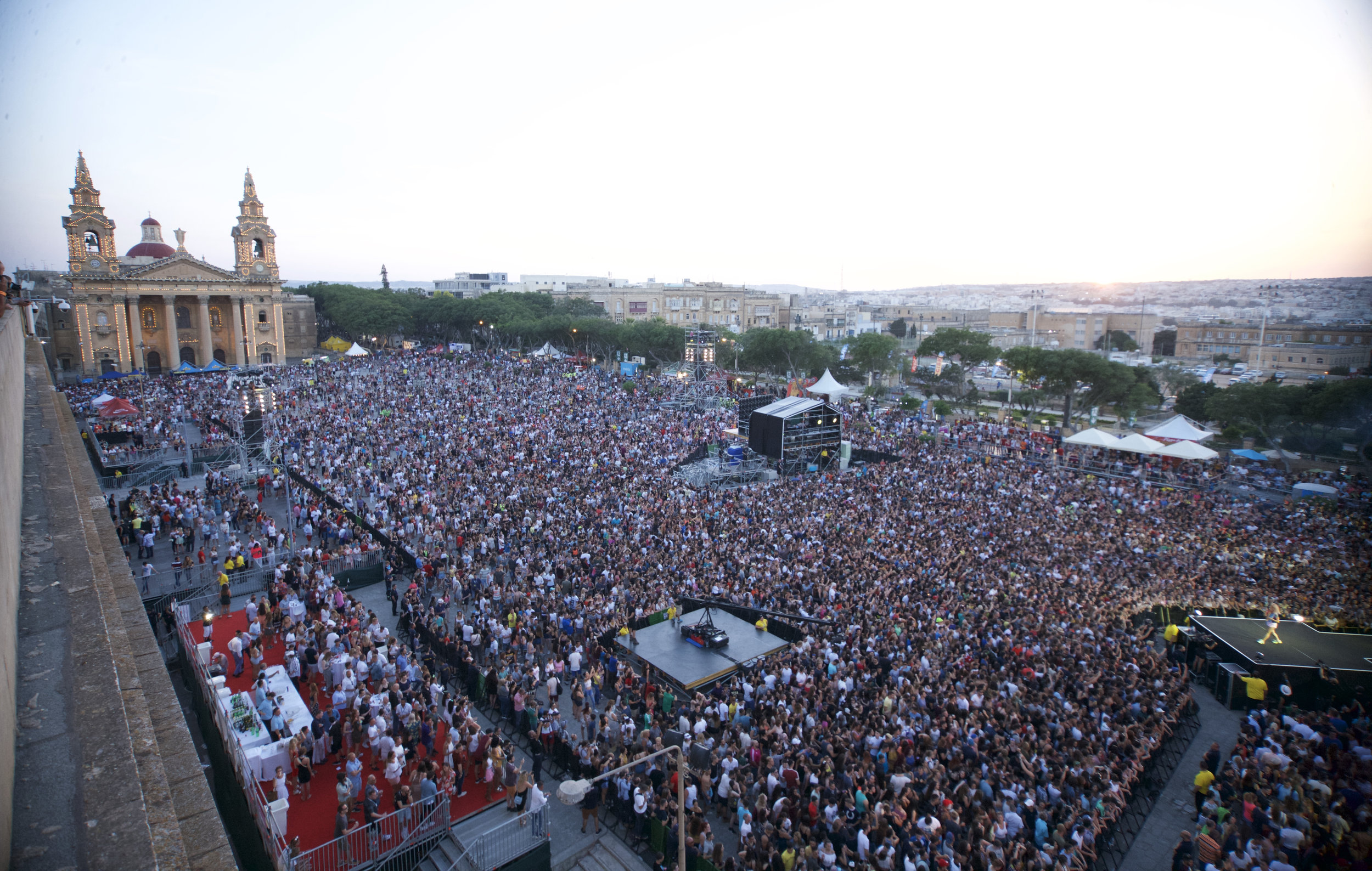 One Malta's most iconic festivals, the isle of mtv music week