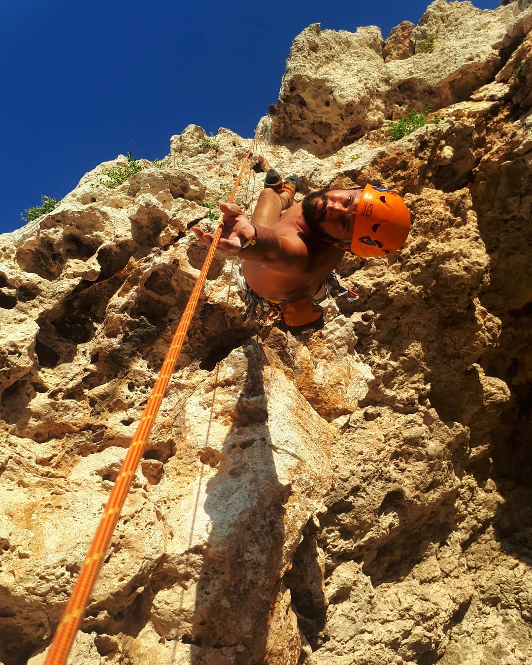 rock climbing in Malta is an exhilarating experience