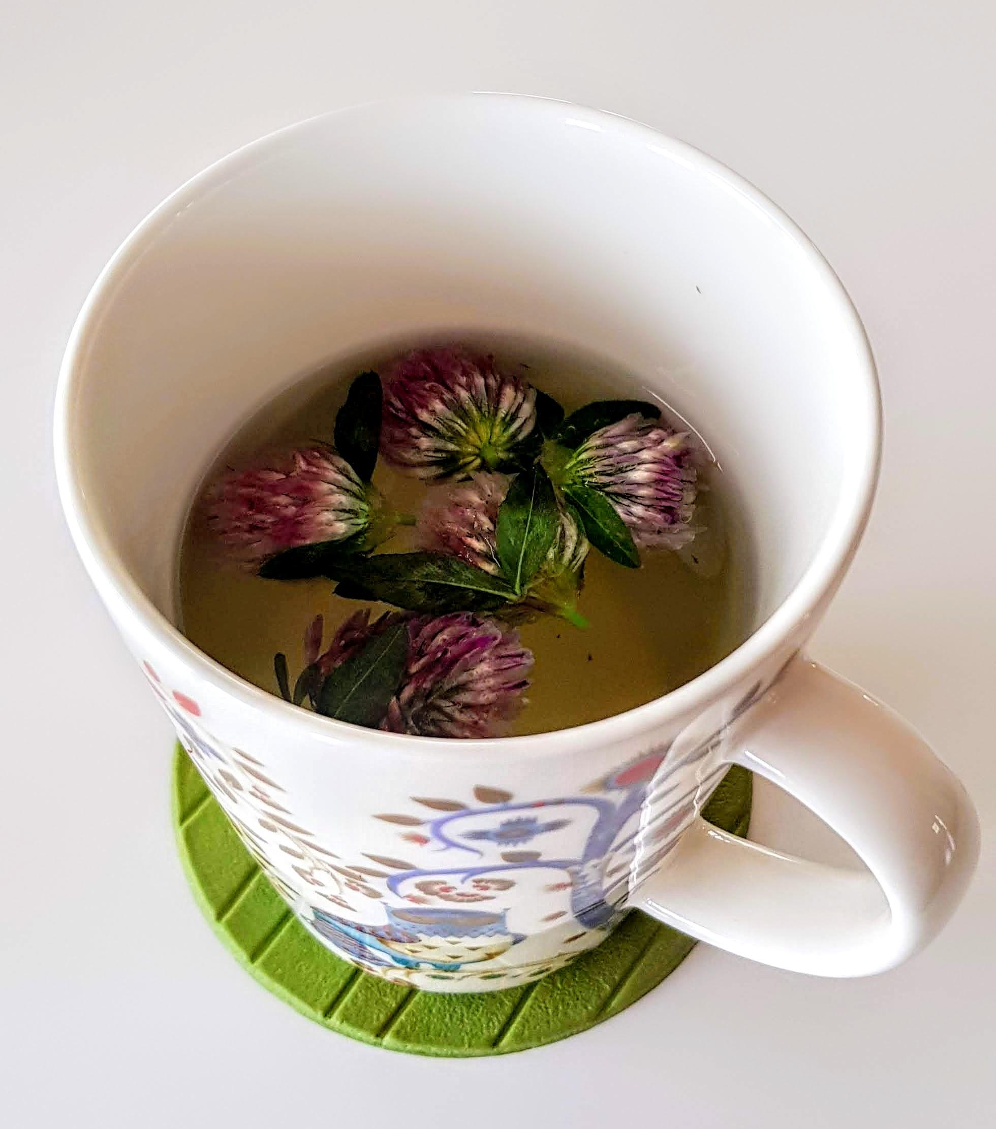 Te gjort på nyplockad rödklöver <3