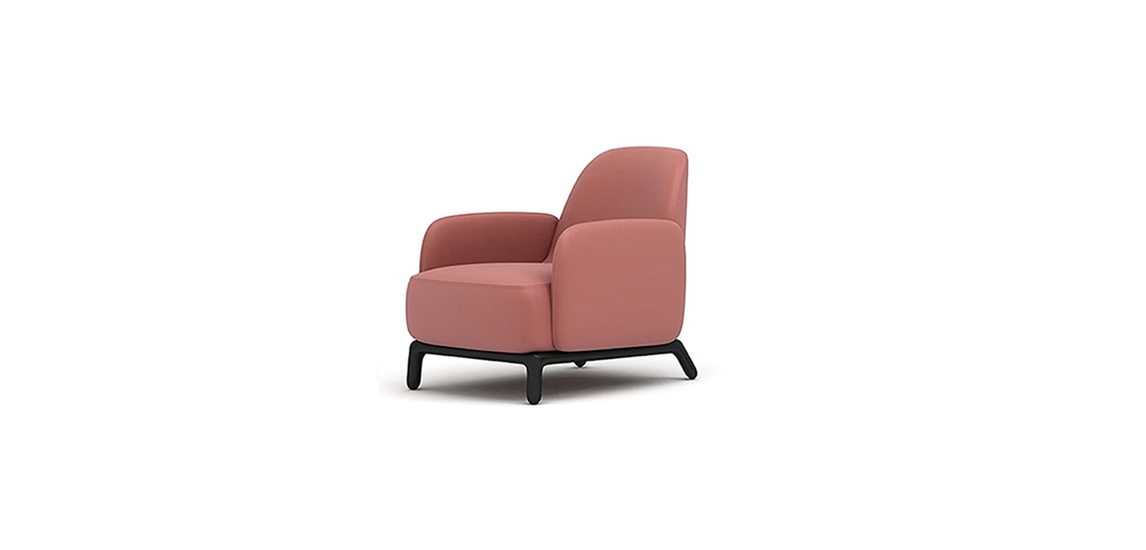 OASIS ARMCHAIR BRAND:  HC28  WEB:   www.hc28.com.cn  Oasis Armchair shows elegant retro style and delicate details through brightness color system. The main seat is embraced by the independent light armrests on the two sides and creates suitable sense of safety, it creates a balance of relaxation and vitality.