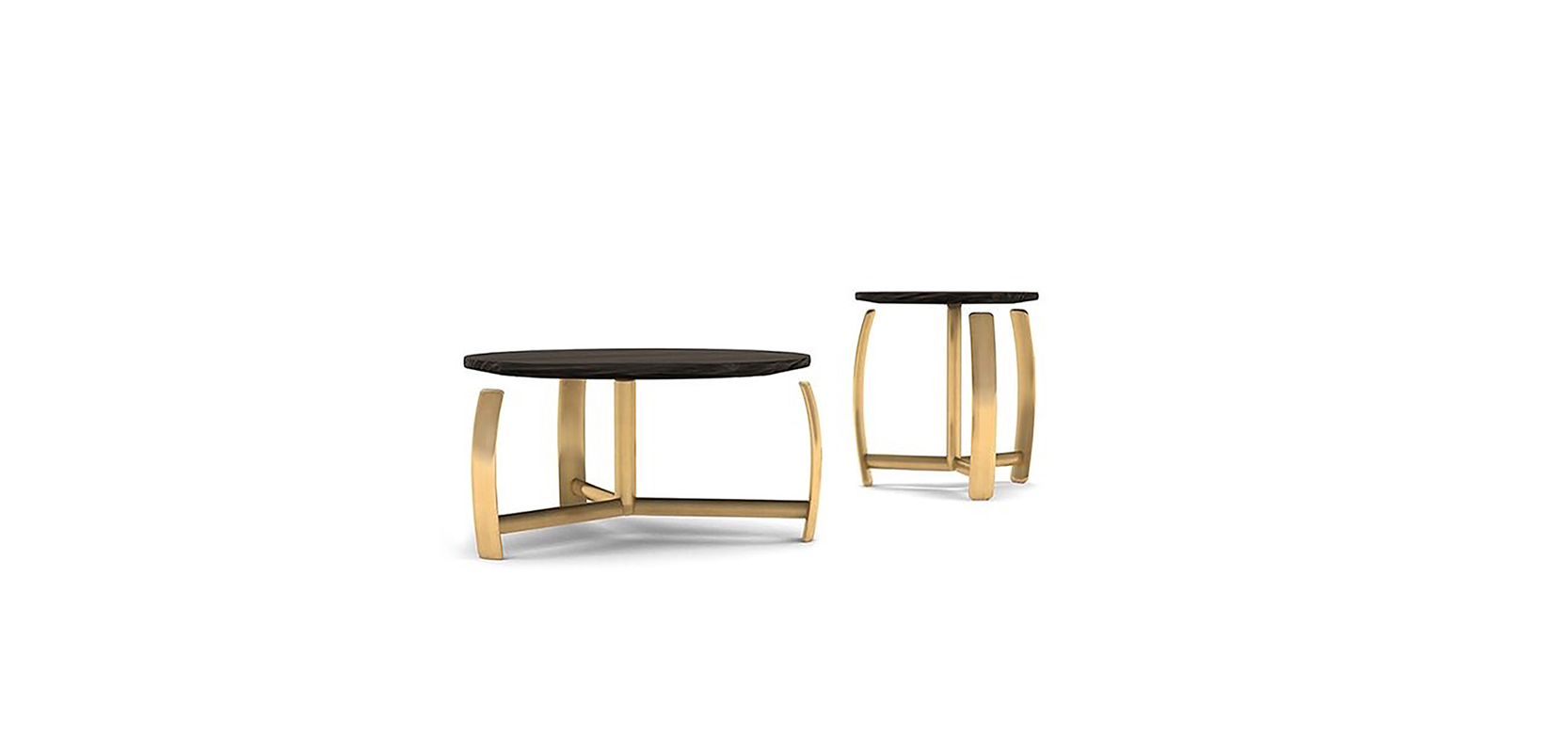 NULL SIDE TABEL BRAND:  FRANK CHOU  WEB:  www.frankchou.com Null Side Table is made of metal and wood. It's more like an artwork, rooted in traditional oriental implement, the relaxing plump arc is the highlight point of design.