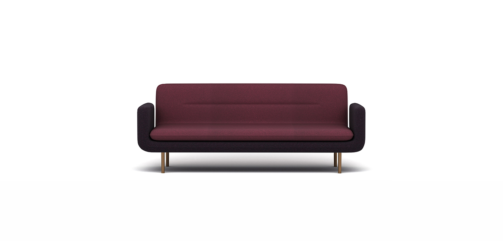 TONE SOFA BRAND:  FRANK CHOU  WEB:  www.frankchou.com Tone Sofa is a combination of fabric with metal, creating an unique sense of light. Simple and clean steady style is suitable for different decoration and more visually enjoyable.