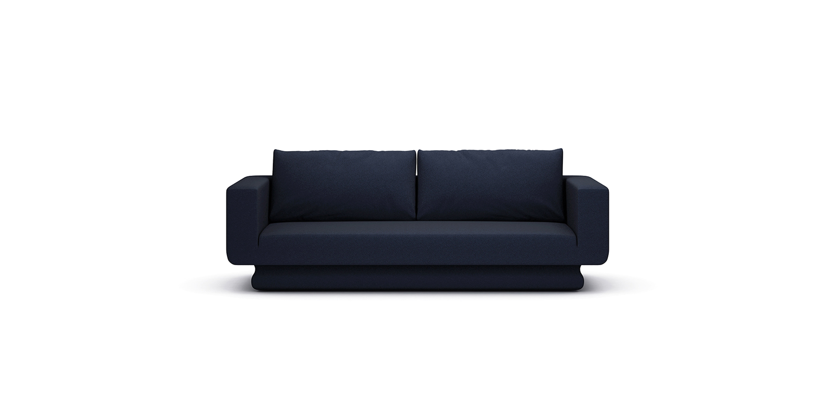 BAY SOFA BRAND:  FRANK CHOU  WEB:  www.frankchou.com This sofa is made of wool fabric. The special arc outline of its base has an oriental sense of beauty. The streamlined base part of the sofa is derived from traditional ceramic utensil, which expresses timeless artistry.