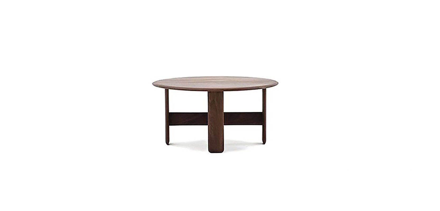 LOOP COFFEE TABLE BRAND:  FNJI  WEB:   www.fnji.com  Loop Coffee Table brings modern oriental style with the poetic touch of walnut wood and the feeling of nature. The geometry sense make it have stronger visual sense.