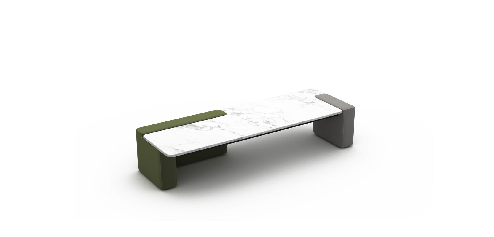 RUBATO COFFEE TABLE BRAND:  FRANK CHOU  WEB:  www.frankchou.com Rubato Coffee Table is full of imagination, the innovative combination of marble and soft package technology shows a new attempt in modern furniture design.