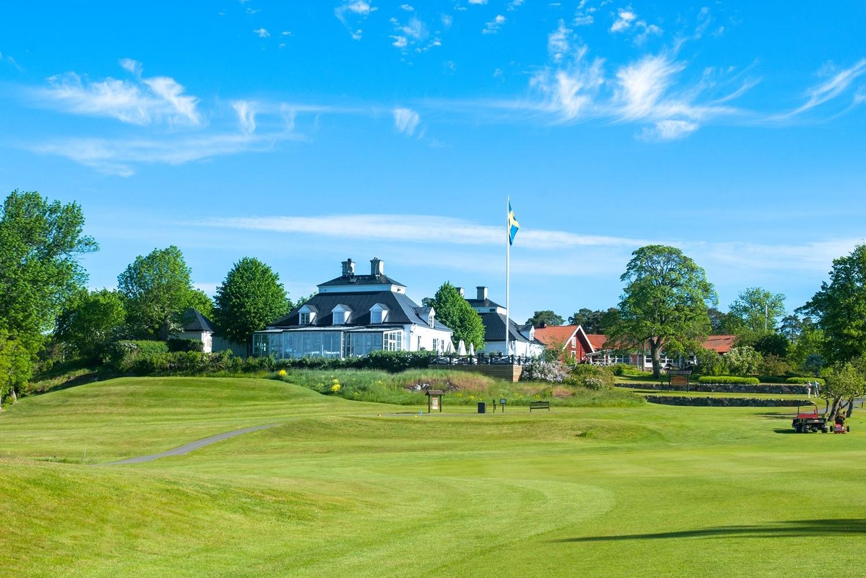 Fågelbro Golfklubb, klubbhuset.