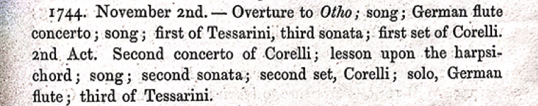 1744. November 2nd. (John Harland,  Remains Historical & Literary . Chethams Society lxxii /1867), p. 73).