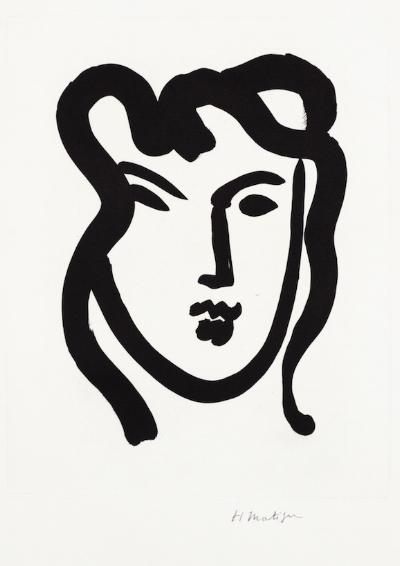 Henry Matisse, Patitcha 1947, Aquatint on BFK Rives paper, Edition of 25
