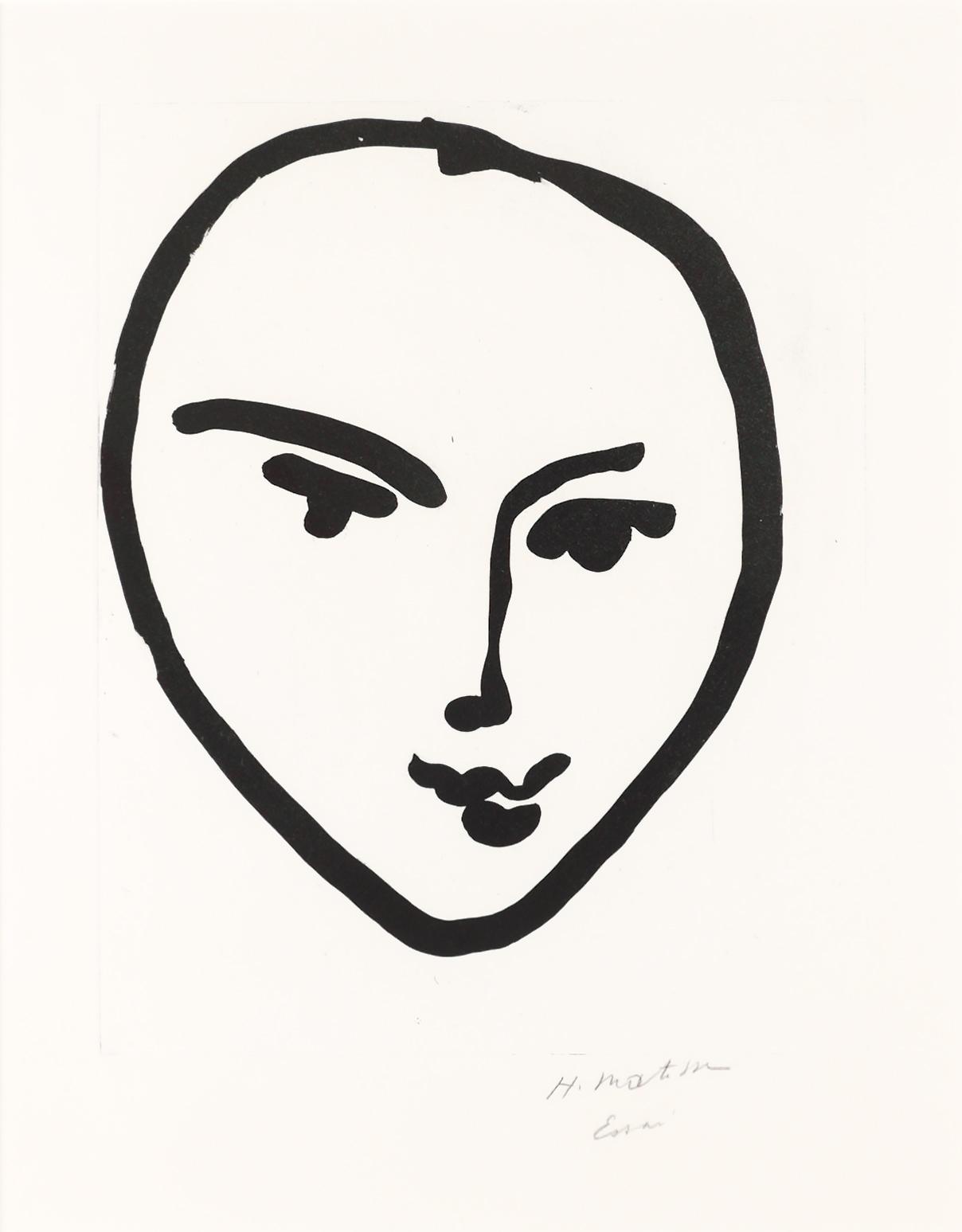 Nadia, Masque souriant, 1948