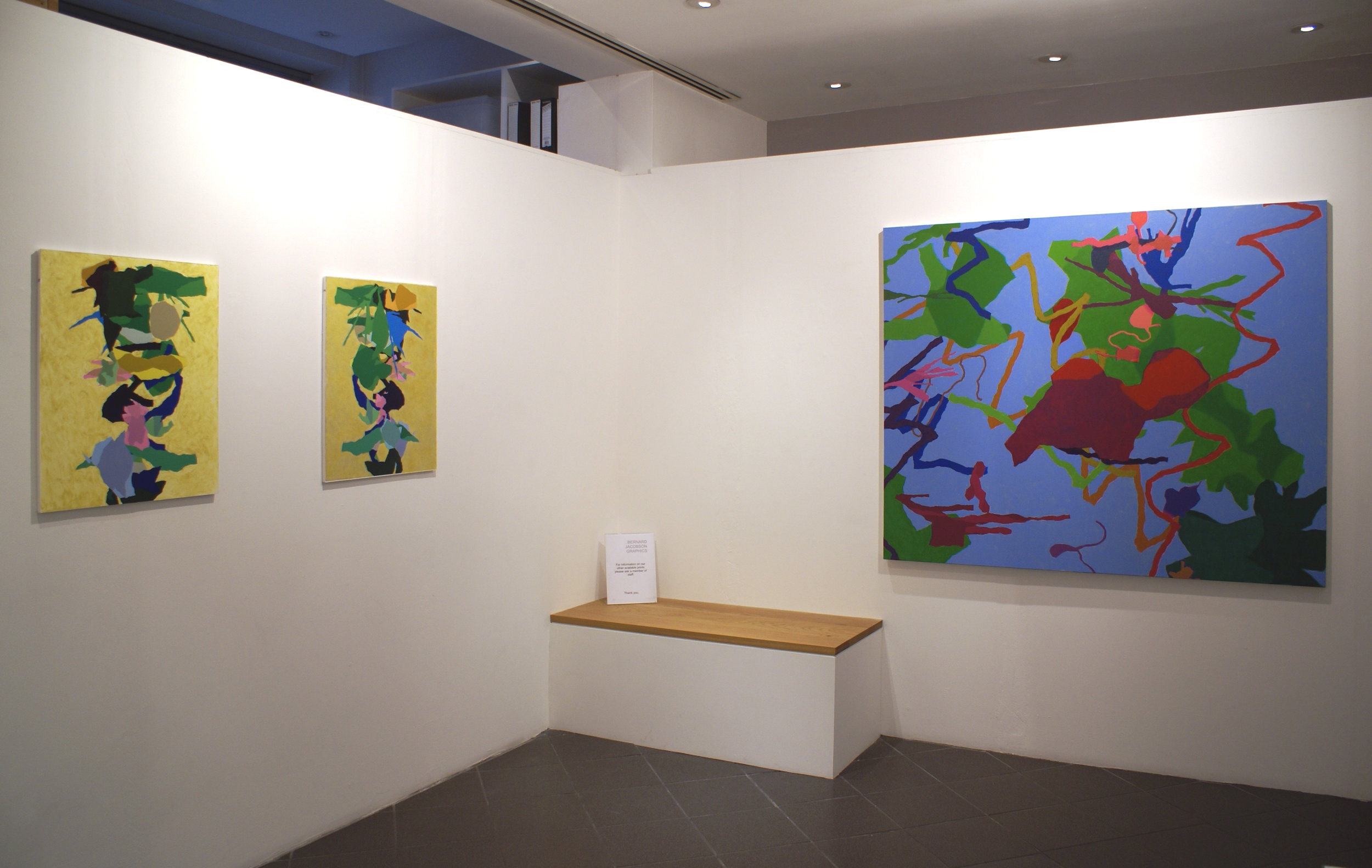 Cohen, Harold New Paintings 2011.12.JPG