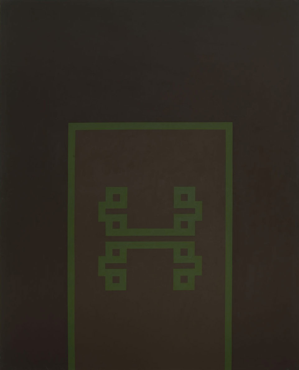 By Day No. 3, 1967, Acrylic on canvas. 243.8 x 198 cms (95 x 77 ins)