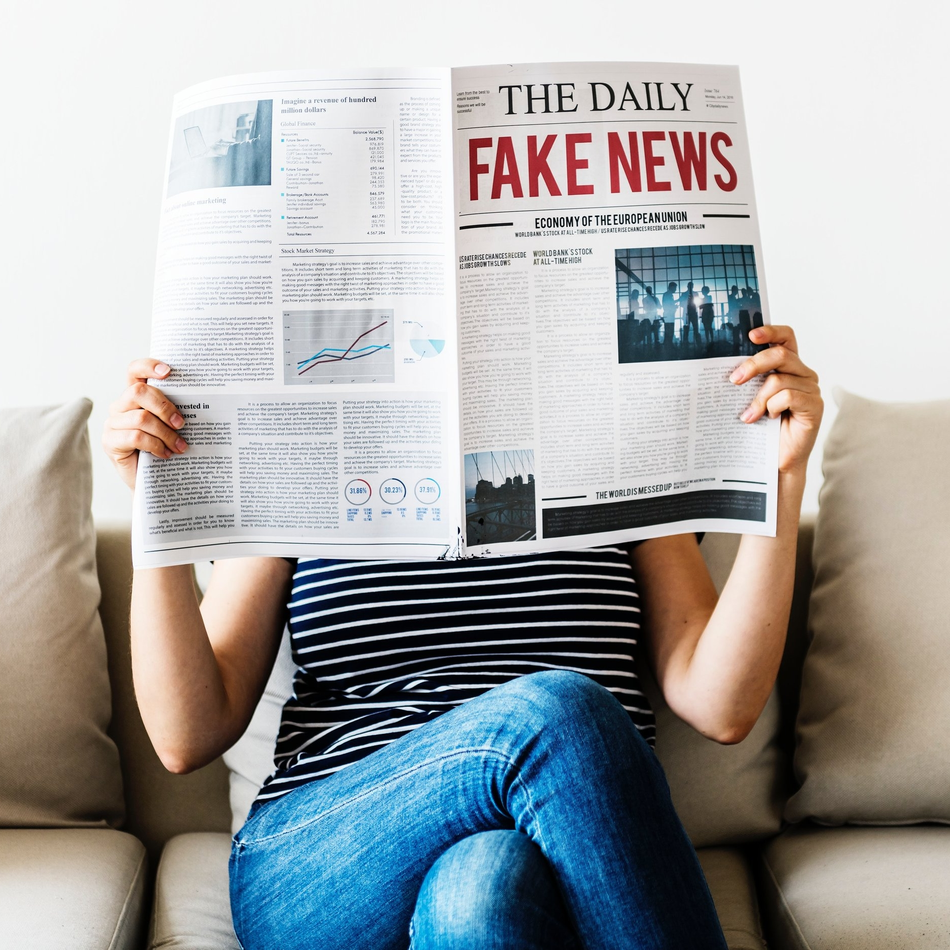 Unfortunately, it's not fake news. Read about current stories and instigate discussions on social media or in your community that protect survivors.