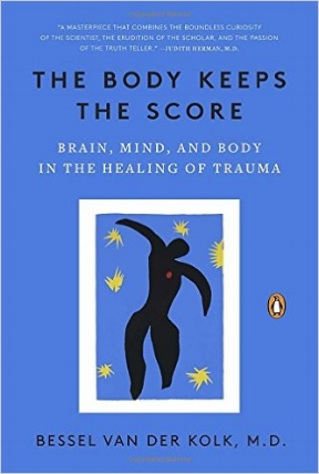 In The Body Keeps the Score: Brain, Mind, and Body in the Healing of Trauma     explores the ways in which trauma rewires the brain.