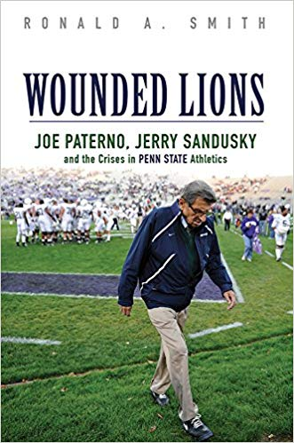 Wounded Lions  recounts the Penn State child molestation case that stunned the nation. As subsequent revelations uncovered an athletic program operating free of oversight, university officials faced criminal charges while unprecedented NCAA sanctions hammered Penn State football and blackened the reputation of coach Joe Paterno.
