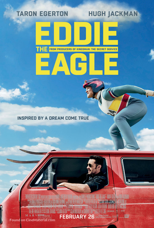 Eddy the Eagle  | The inspirational true story of Eddie the Eagle, a British ski-jumper whose Olympic performance wins the hearts of fans around the world.
