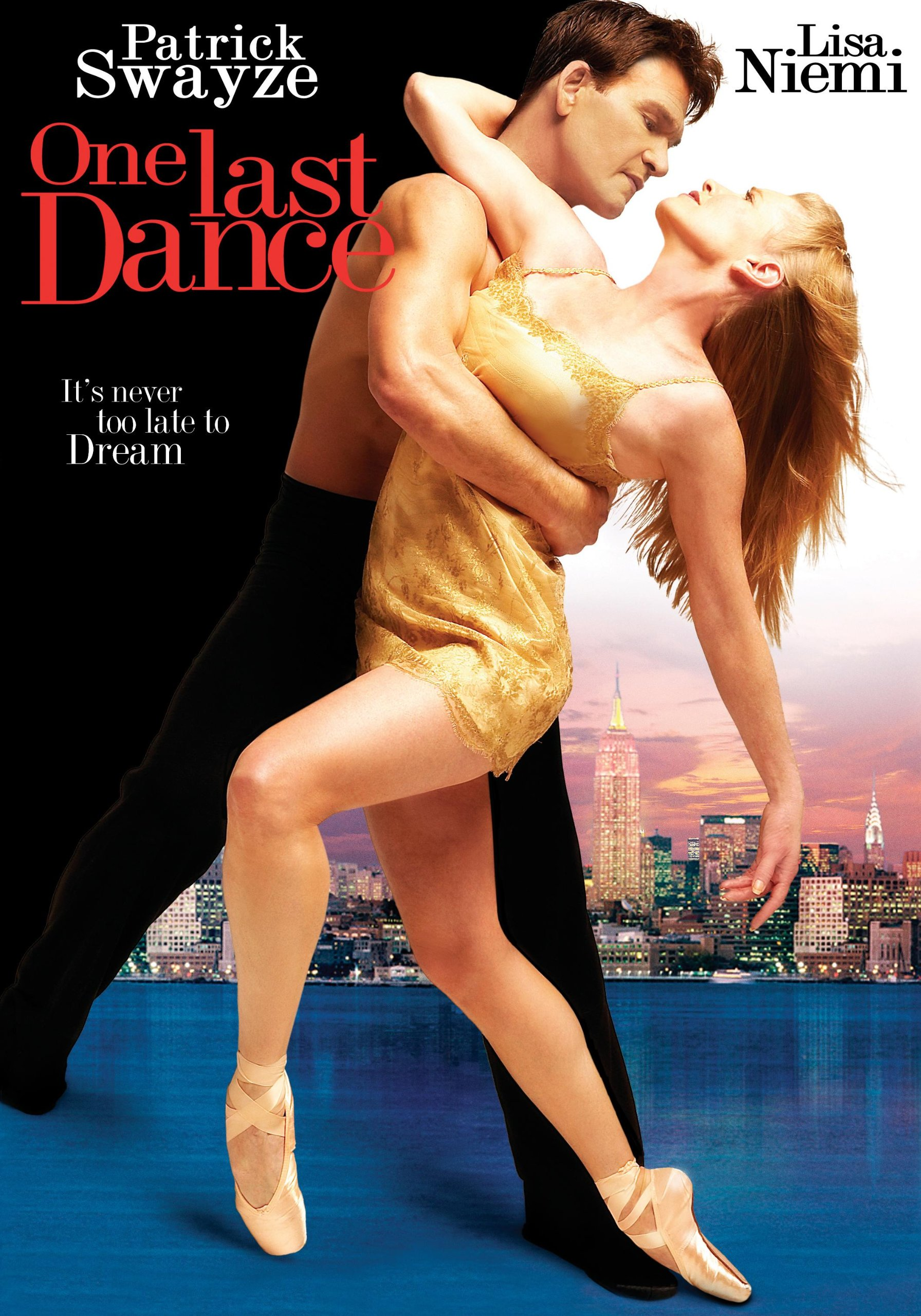 One Last Dance  | In the wake of tragedy, a renowned New York dance company is on the brink of collapse. After leaving the dance world for good, Travis (Patrick Swayze), Chrissa and Max are pulled in to resurrect the dance that shattered their careers. They have one last chance to save the company, re-connect with the passion and magic and prove that miracles really can happen.