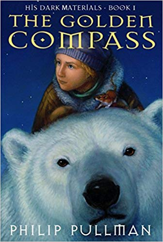 The Golden Compass  | Philip Pullman takes readers to a world where humans have animal familiars and where parallel universes are within reach.