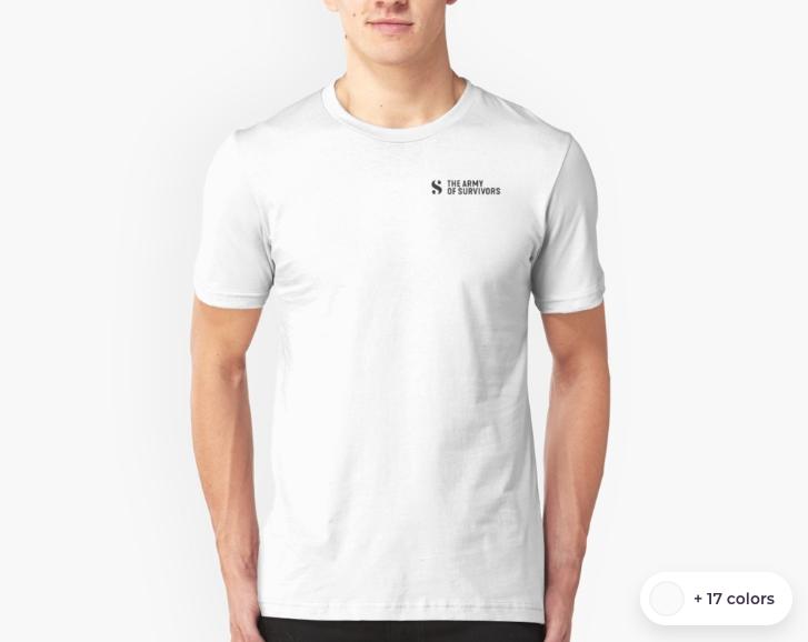 UNISEX T-SHIRT   $17.50