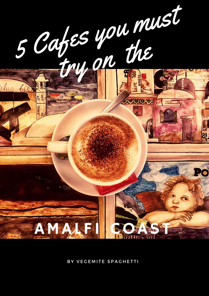 Top Cafes to go to on the Amalfi Coast