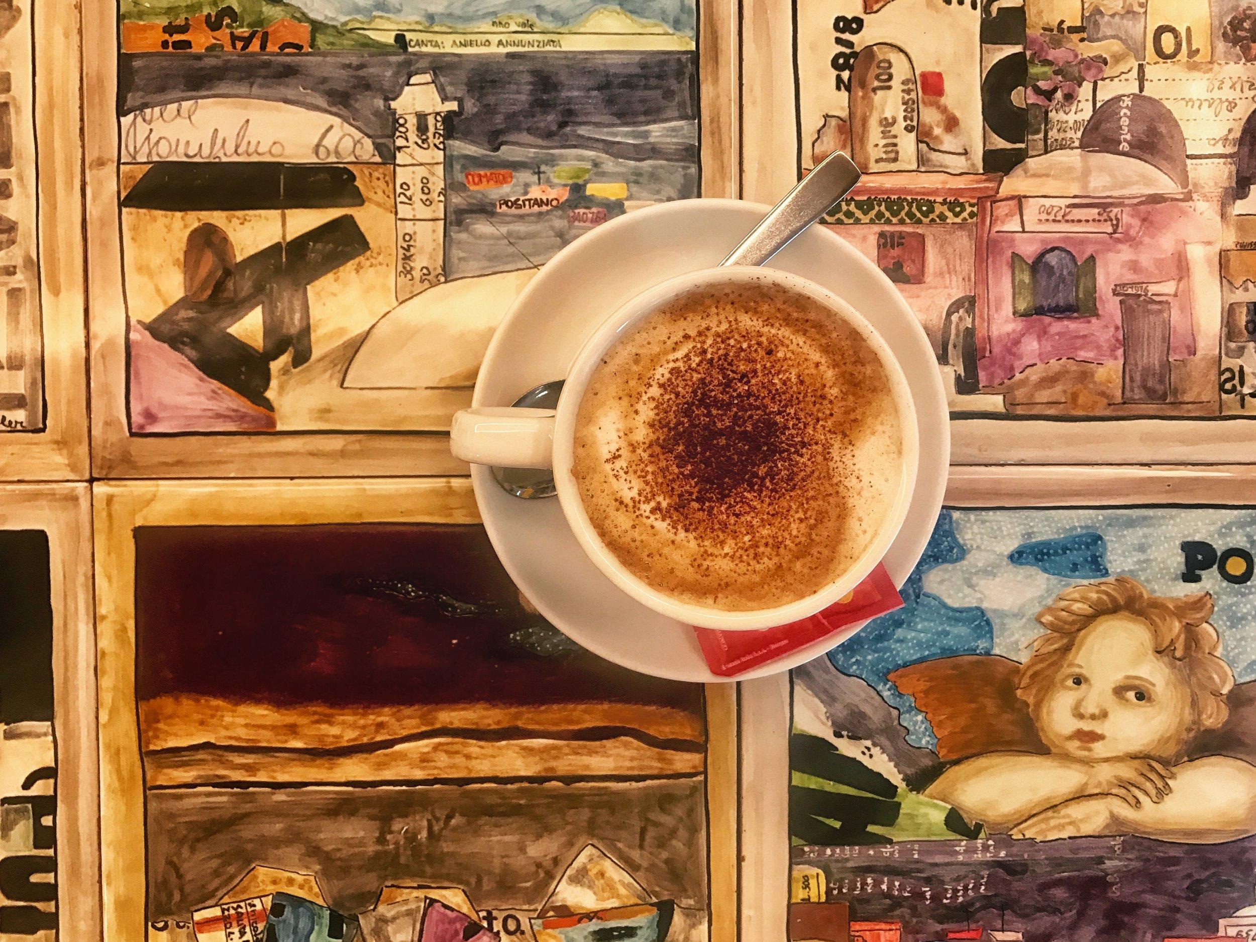 Best cafes on the Amalfi Coast
