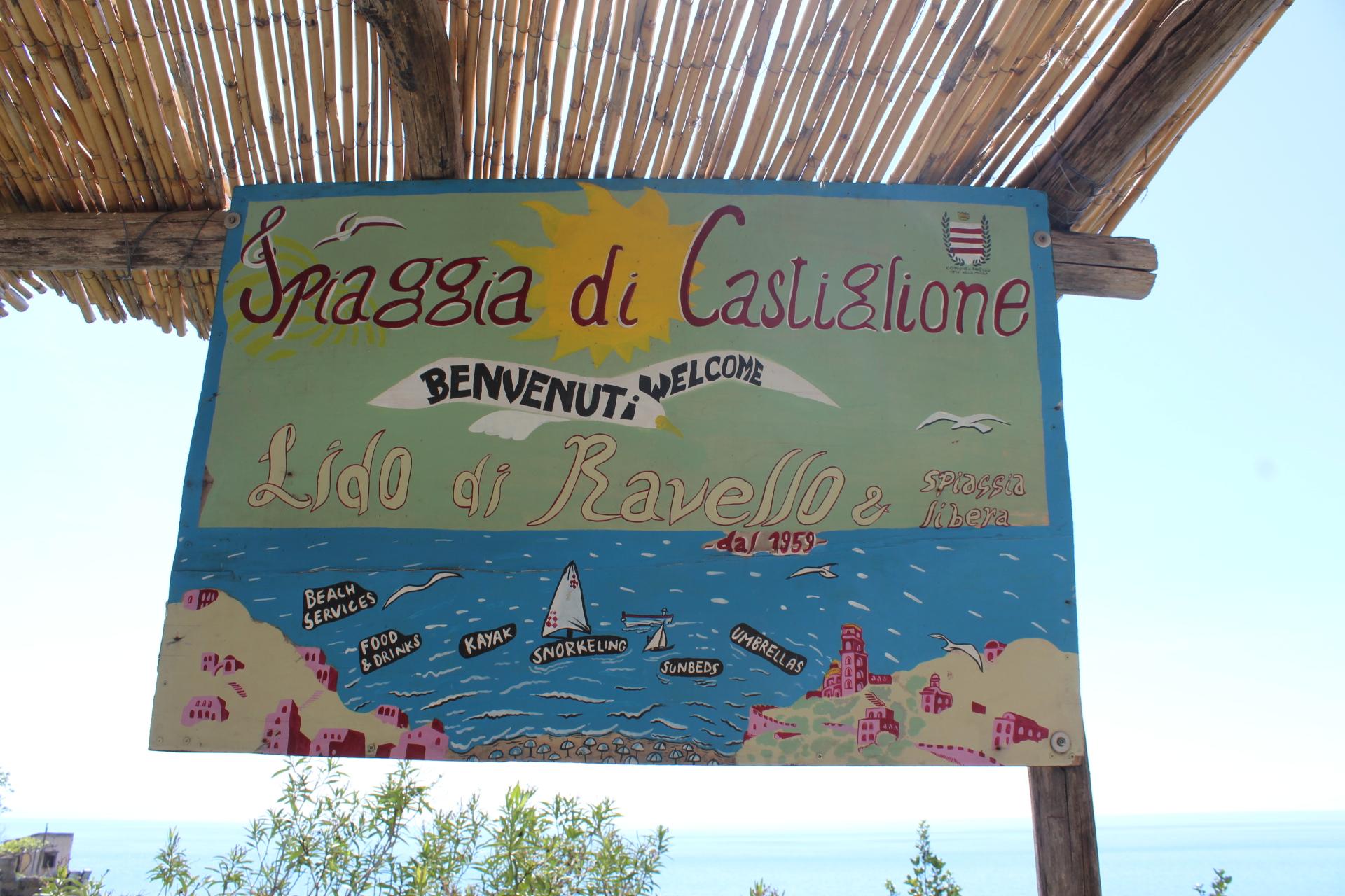 Ravello's Beach