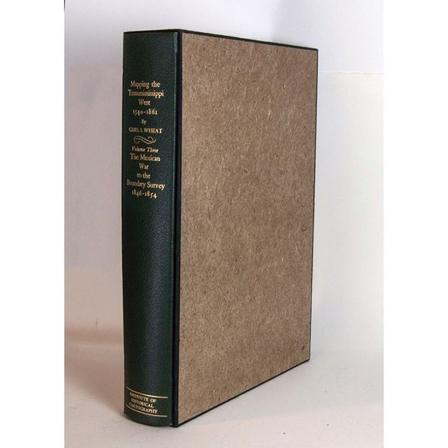 A commission: single volume showing Hook handmade paper and green kozo wrapping